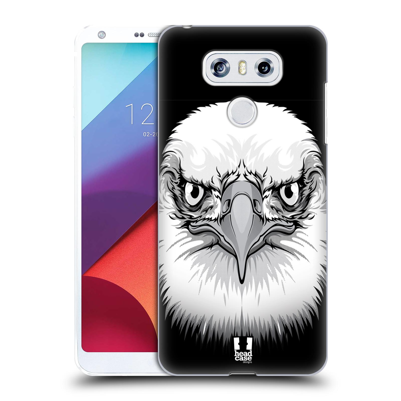 Plastové pouzdro na mobil LG G6 - Head Case ILUSTROVANÝ OREL
