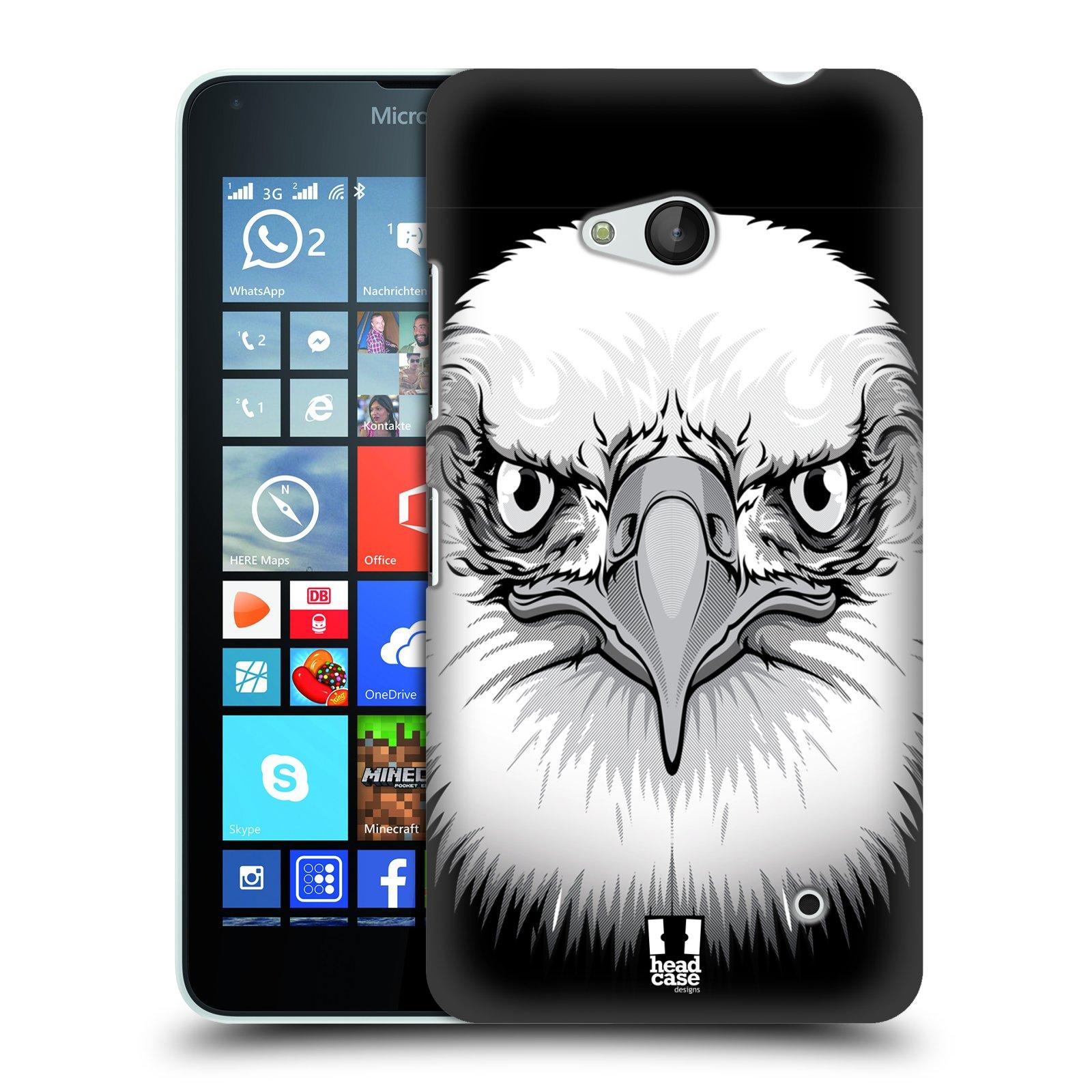 Plastové pouzdro na mobil Microsoft Lumia 640 HEAD CASE ILUSTROVANÝ OREL