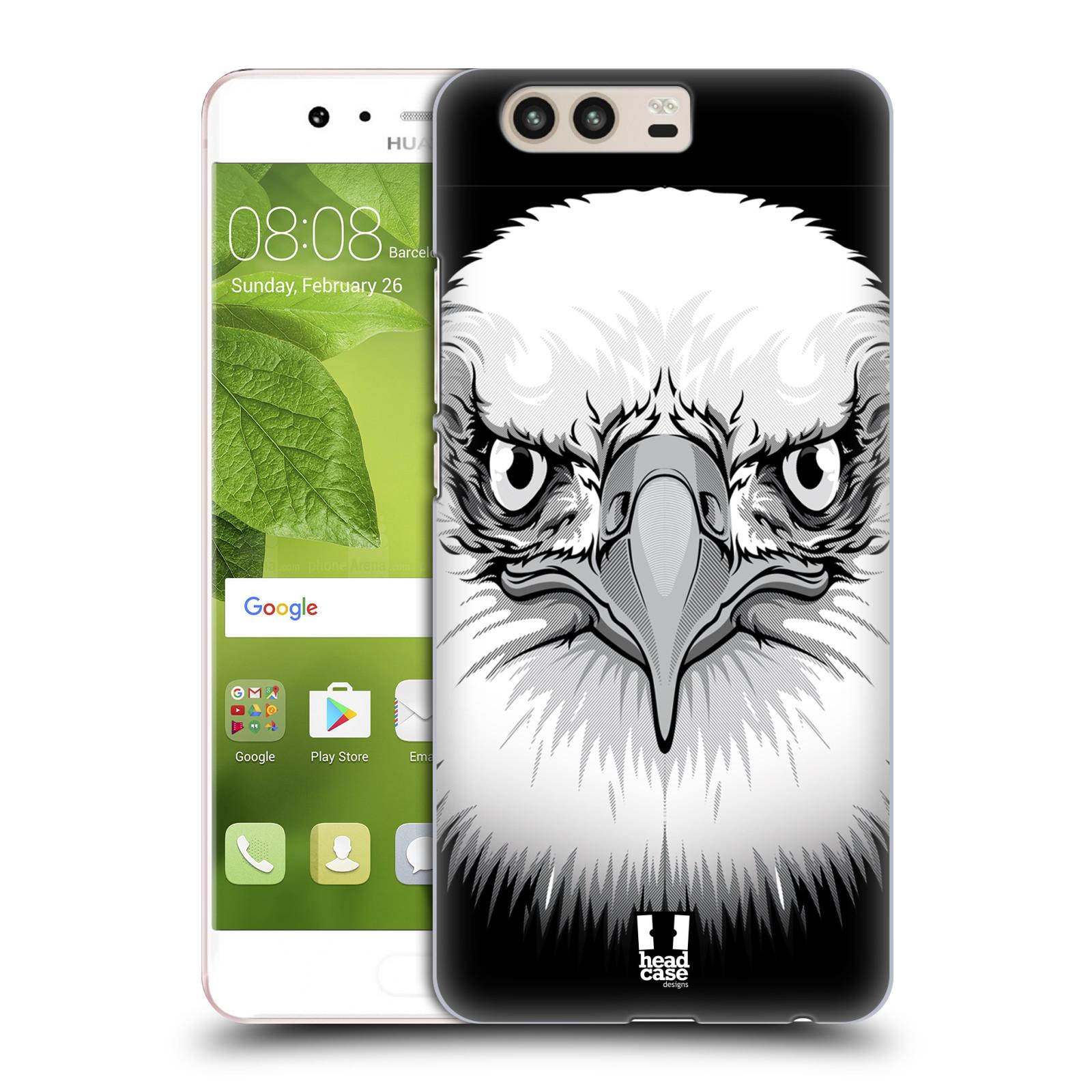Plastové pouzdro na mobil Huawei P10 - Head Case ILUSTROVANÝ OREL