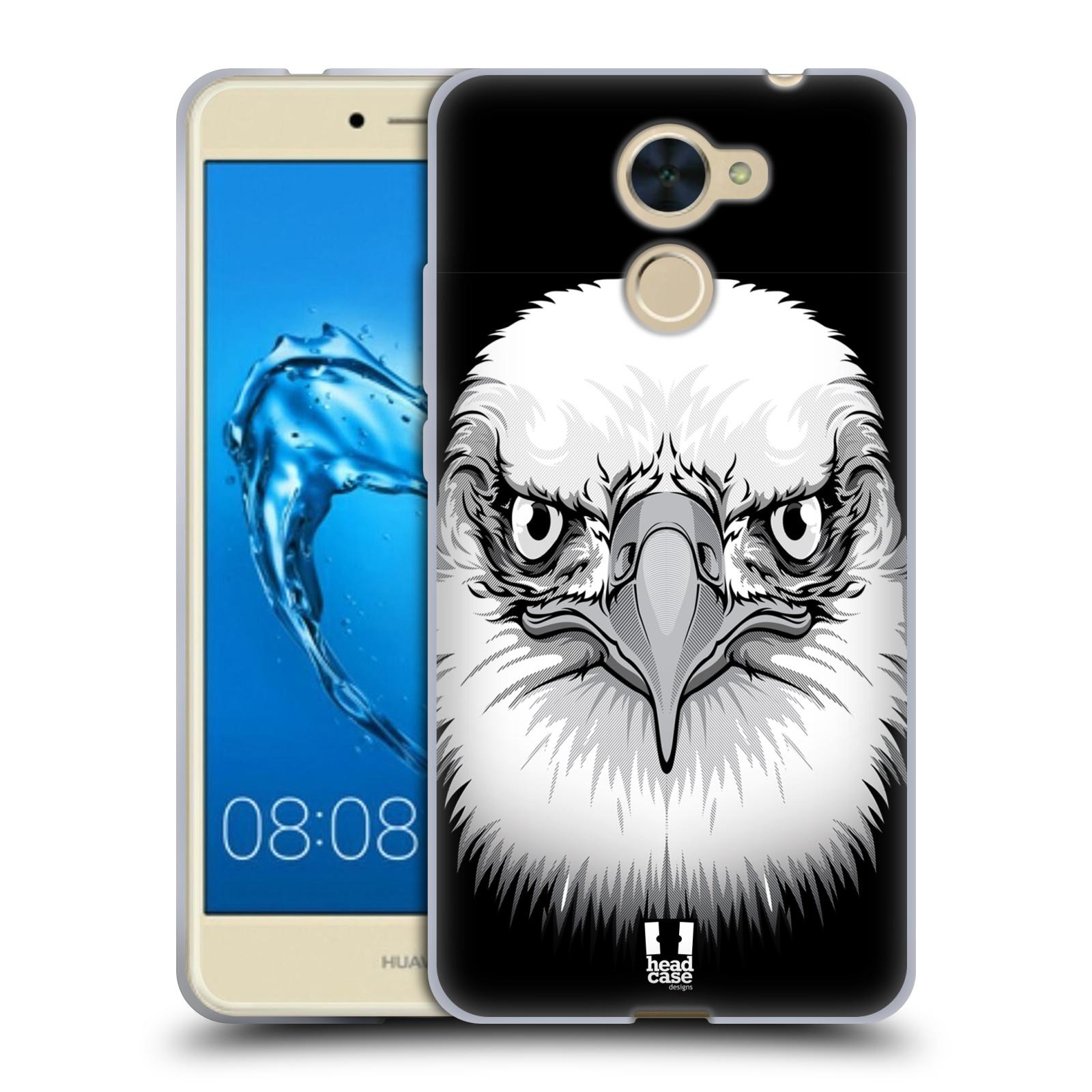 Silikonové pouzdro na mobil Huawei Y7 - Head Case - ILUSTROVANÝ OREL