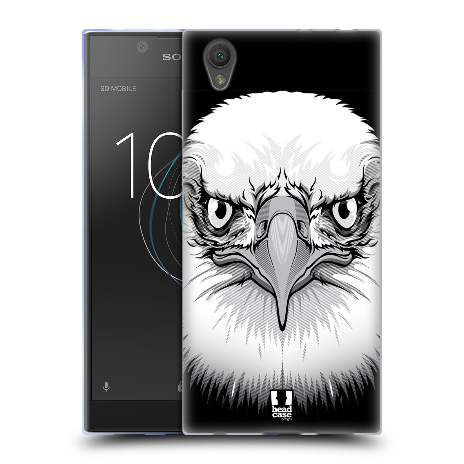Silikonové pouzdro na mobil Sony Xperia L1 - Head Case - ILUSTROVANÝ OREL