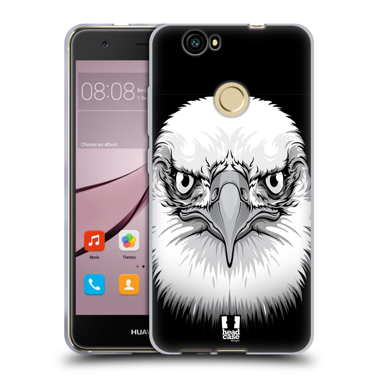 Silikonové pouzdro na mobil Huawei Nova - Head Case - ILUSTROVANÝ OREL