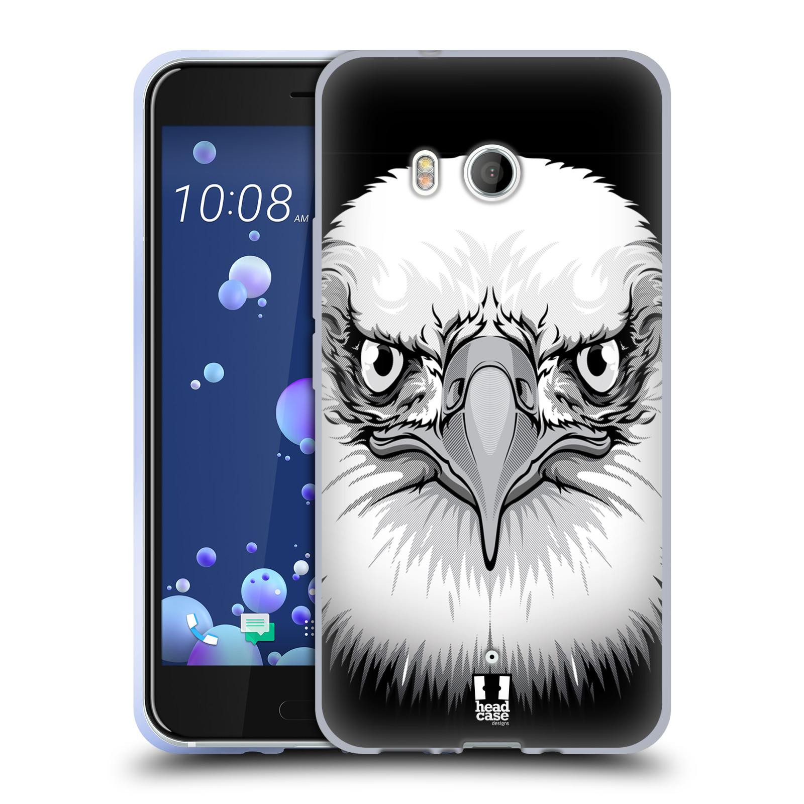 Silikonové pouzdro na mobil HTC U11 - Head Case - ILUSTROVANÝ OREL