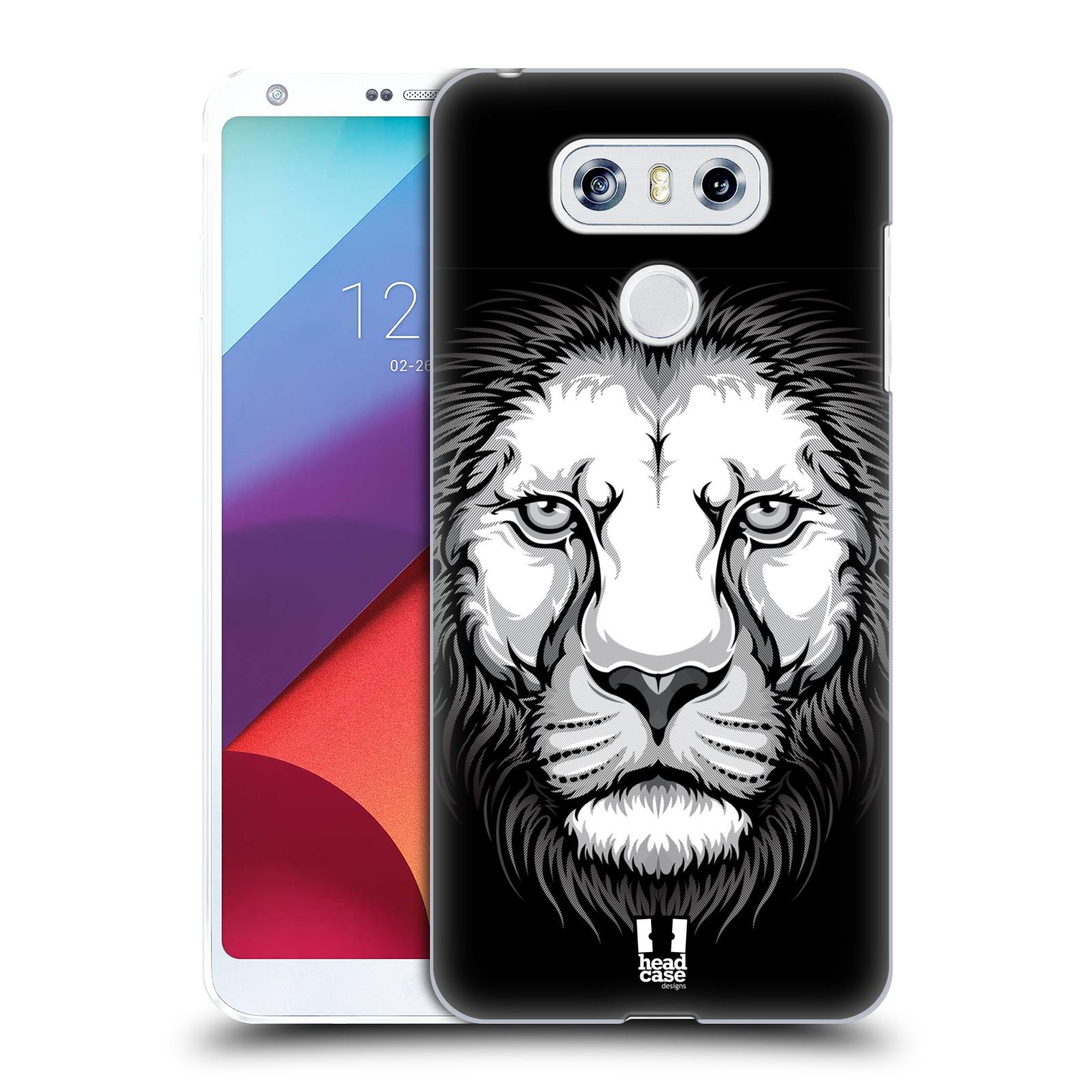 Plastové pouzdro na mobil LG G6 - Head Case ILUSTROVANÝ LEV