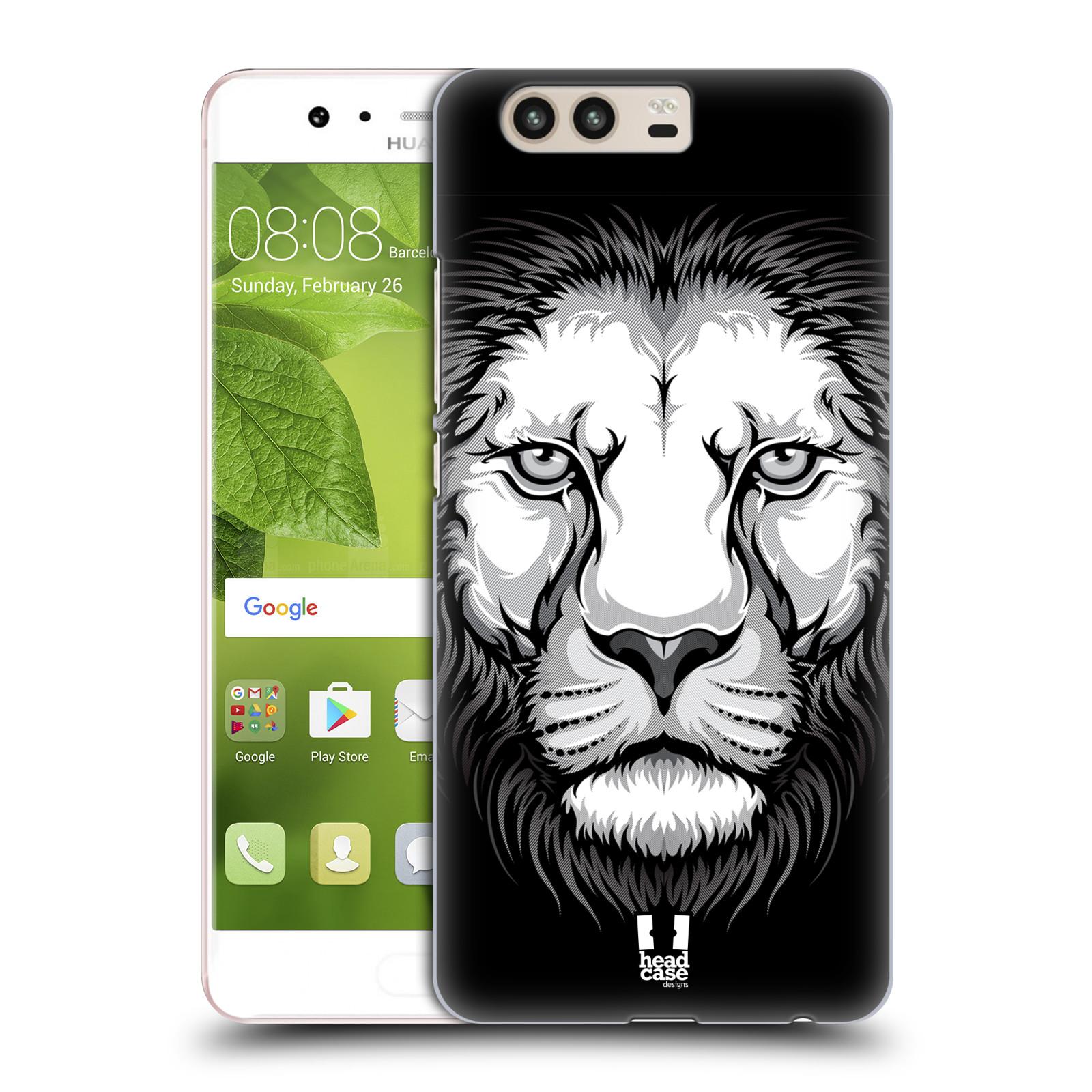 Plastové pouzdro na mobil Huawei P10 - Head Case ILUSTROVANÝ LEV