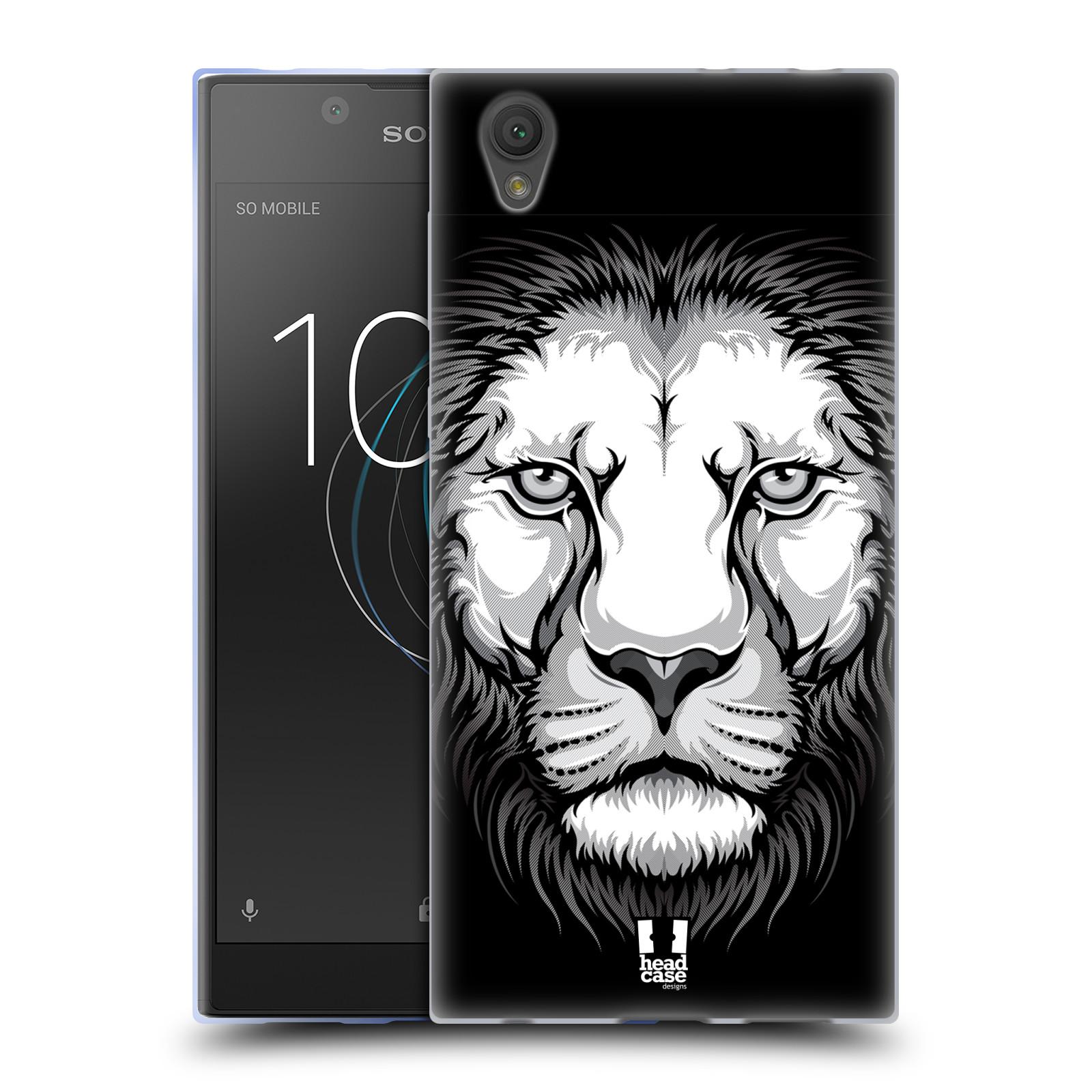 Silikonové pouzdro na mobil Sony Xperia L1 - Head Case - ILUSTROVANÝ LEV