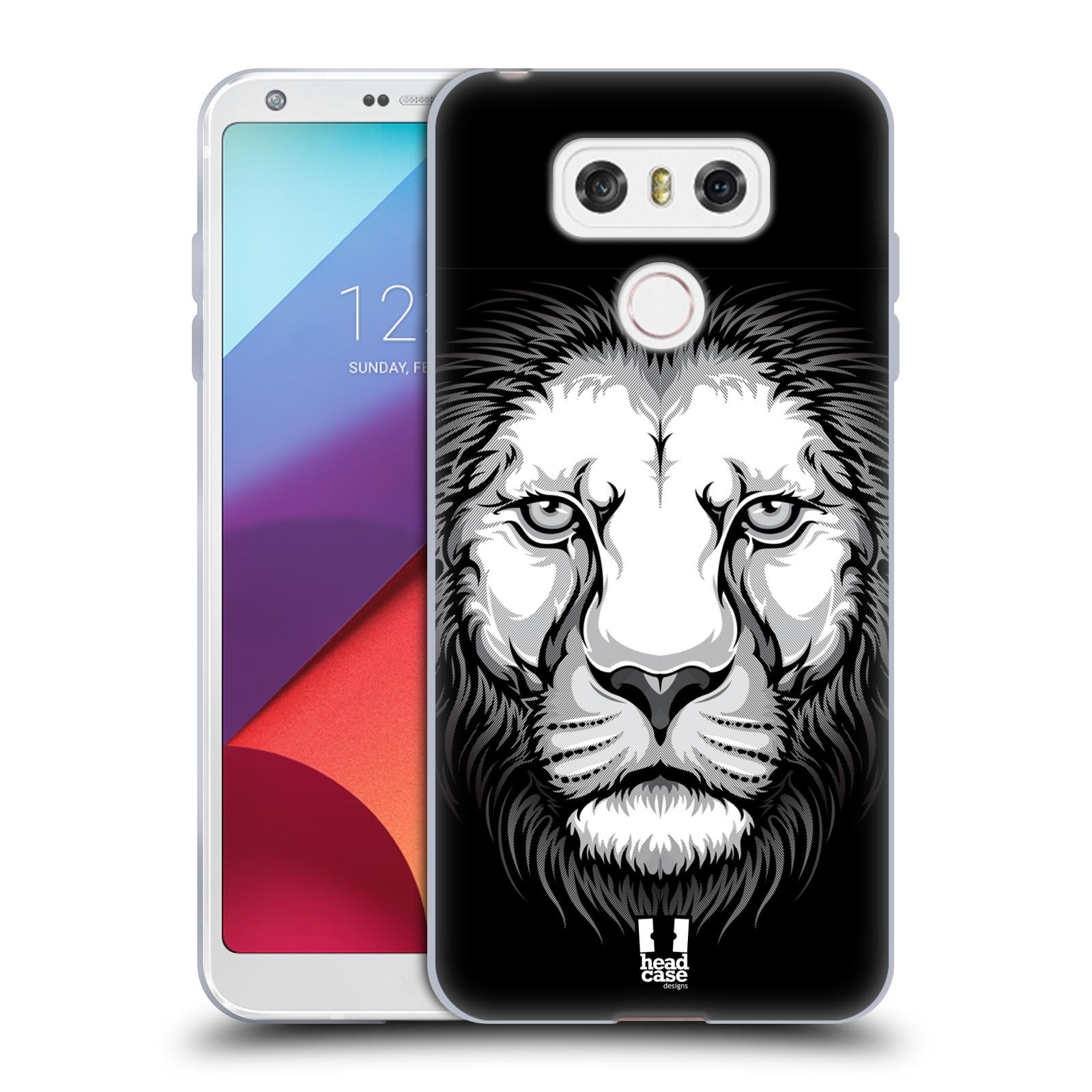 Silikonové pouzdro na mobil LG G6 - Head Case ILUSTROVANÝ LEV