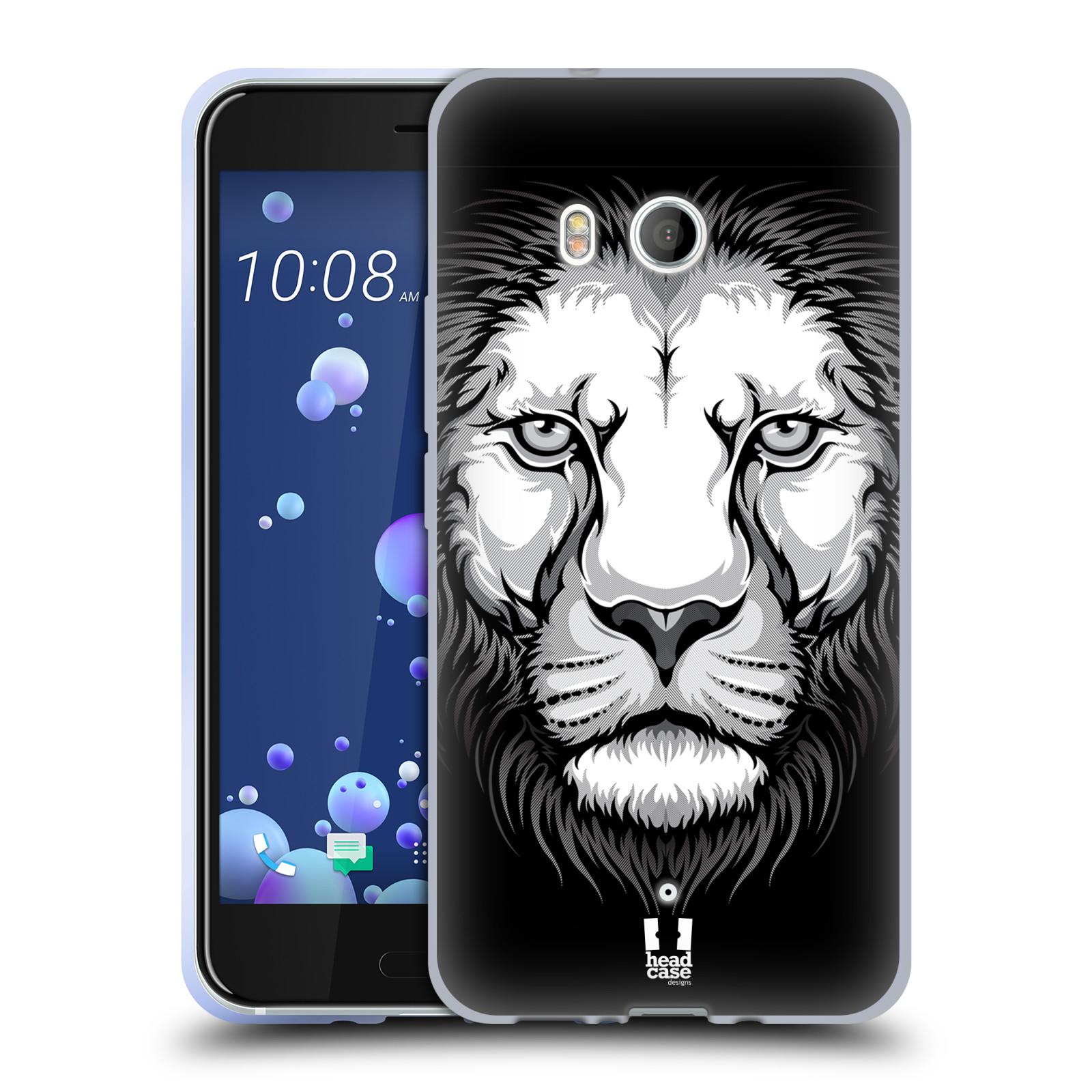 Silikonové pouzdro na mobil HTC U11 - Head Case - ILUSTROVANÝ LEV