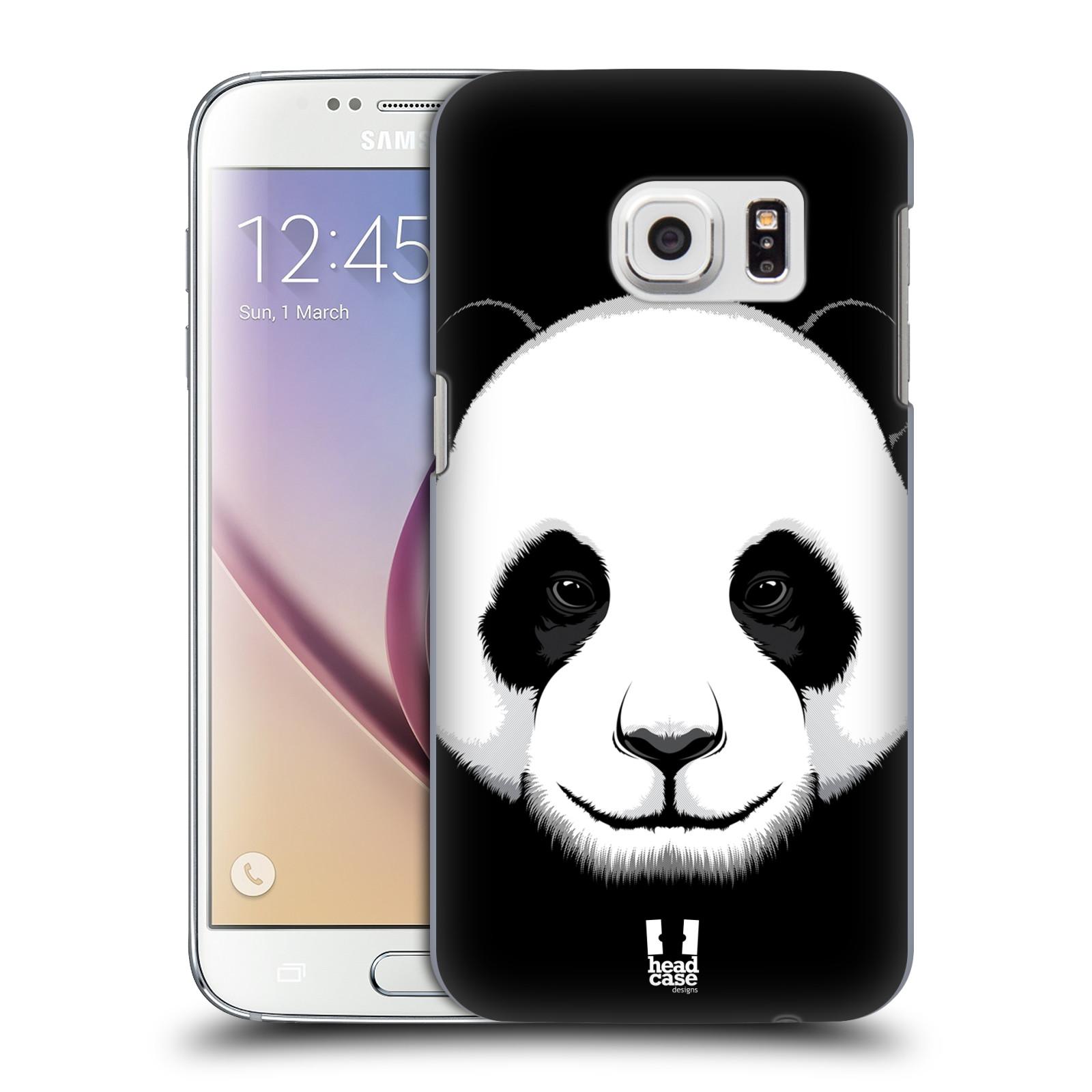 Plastové pouzdro na mobil Samsung Galaxy S7 HEAD CASE ILUSTROVANÁ PANDA (Kryt či obal na mobilní telefon Samsung Galaxy S7 SM-G930F)