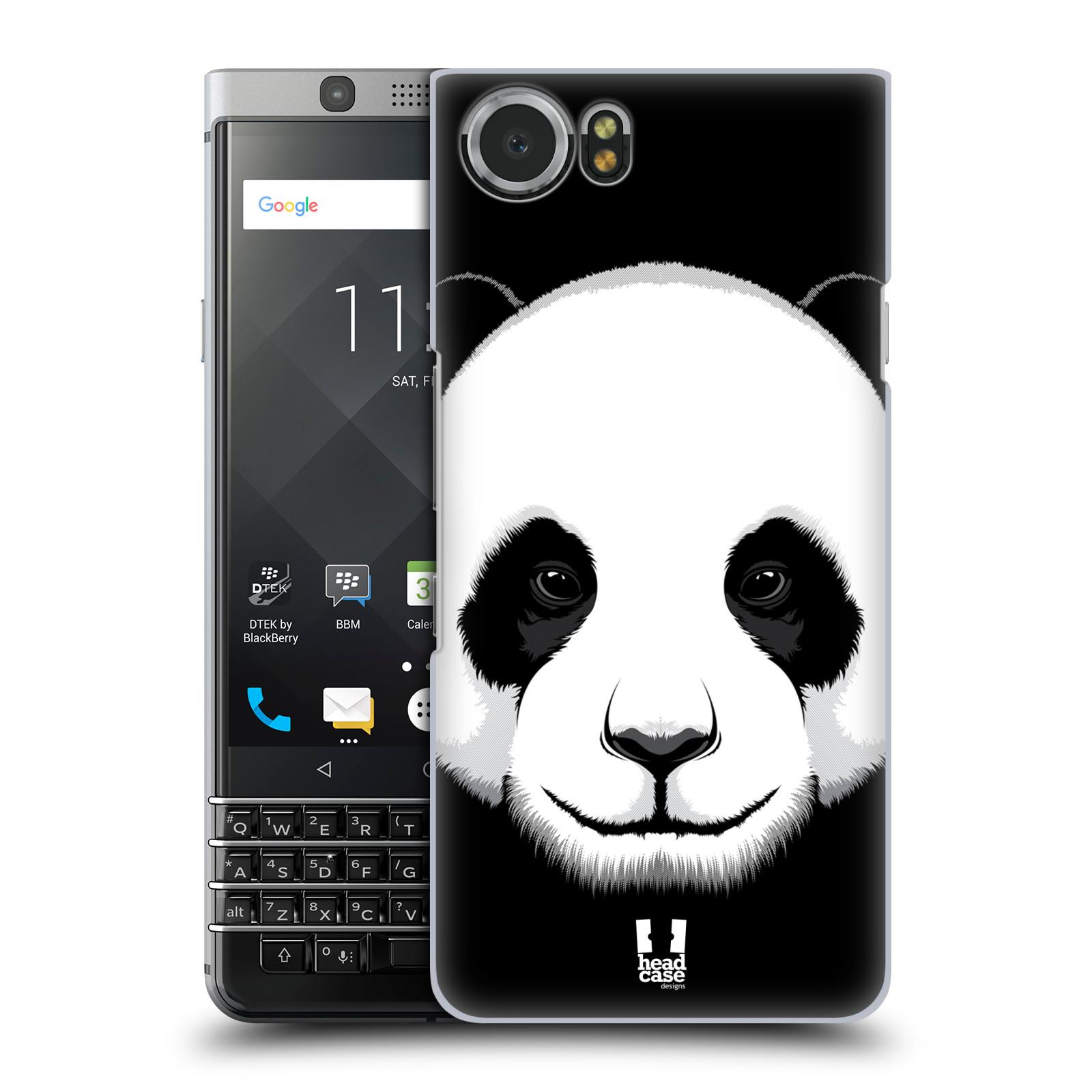 Plastové pouzdro na mobil BlackBerry KEYone - Head Case - ILUSTROVANÁ PANDA