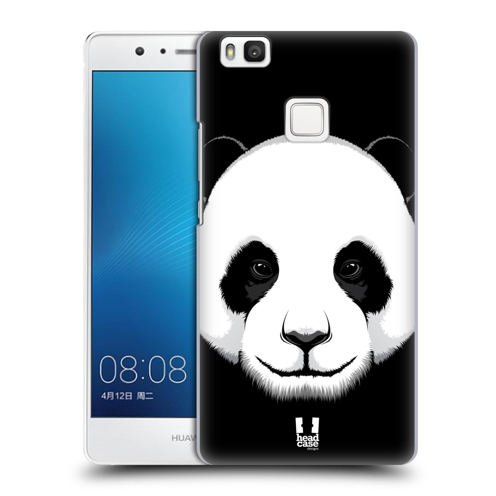Plastové pouzdro na mobil Huawei P9 Lite HEAD CASE ILUSTROVANÁ PANDA
