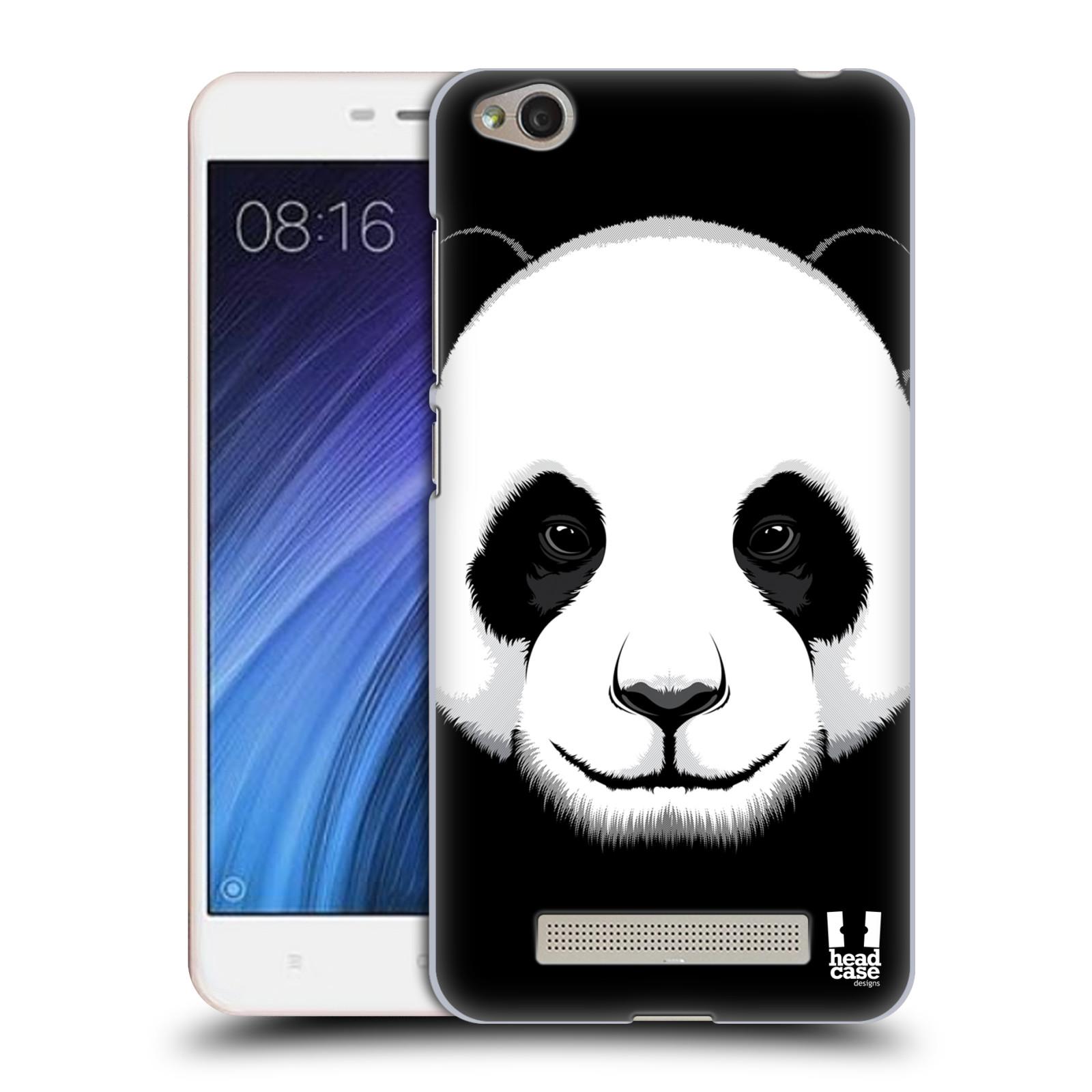 Plastové pouzdro na mobil Xiaomi Redmi 4A HEAD CASE ILUSTROVANÁ PANDA