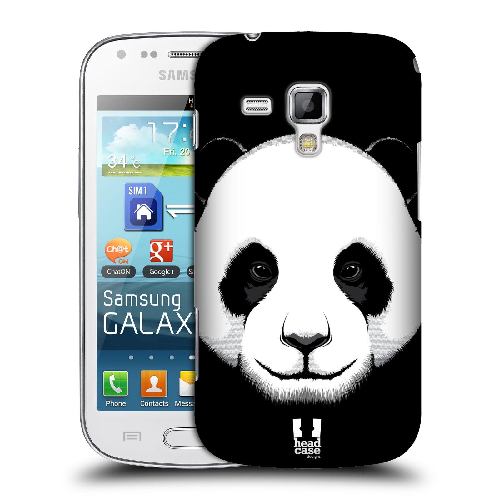 Plastové pouzdro na mobil Samsung Galaxy Trend Plus HEAD CASE ILUSTROVANÁ PANDA