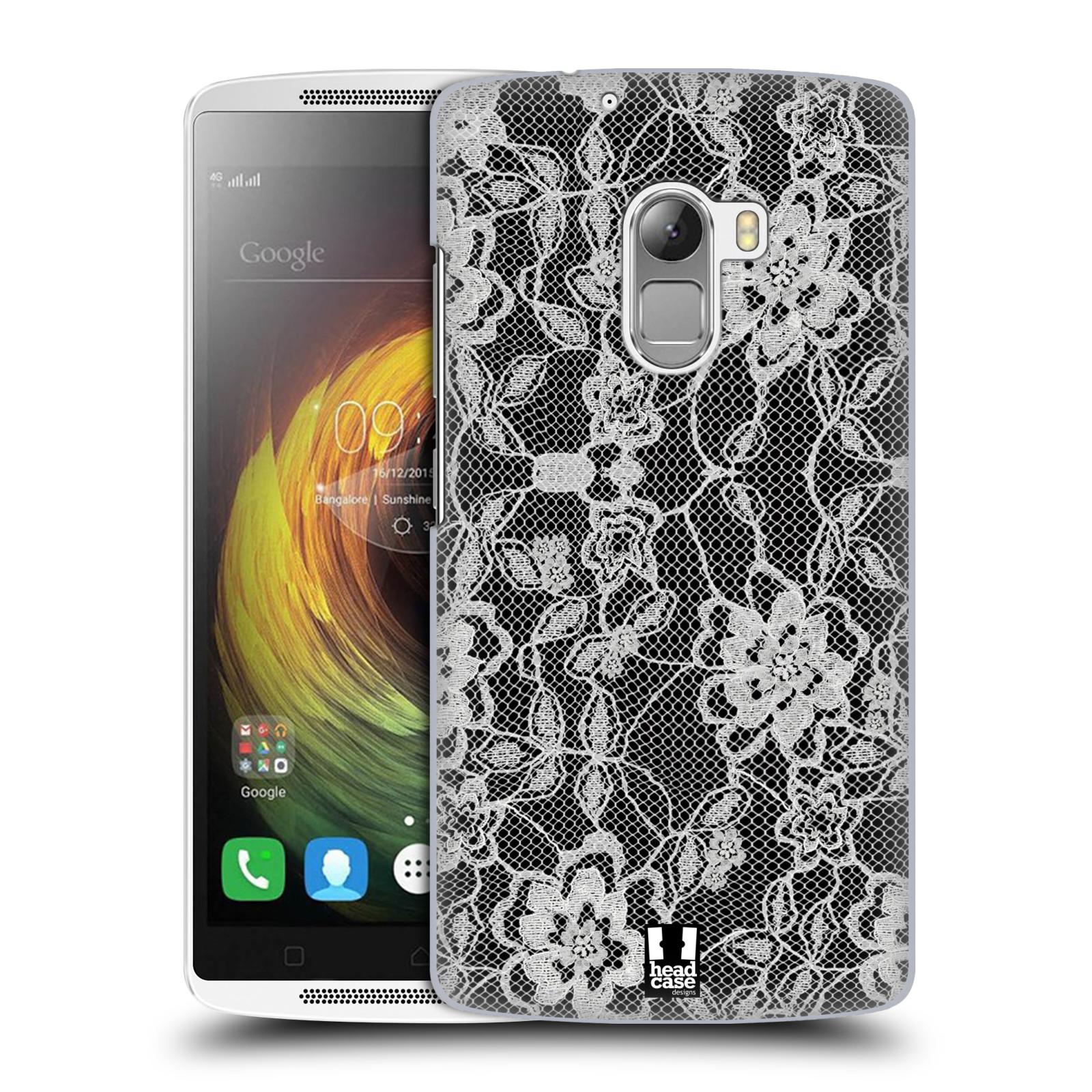 Plastové pouzdro na mobil Lenovo A7010 HEAD CASE FLOWERY KRAJKA