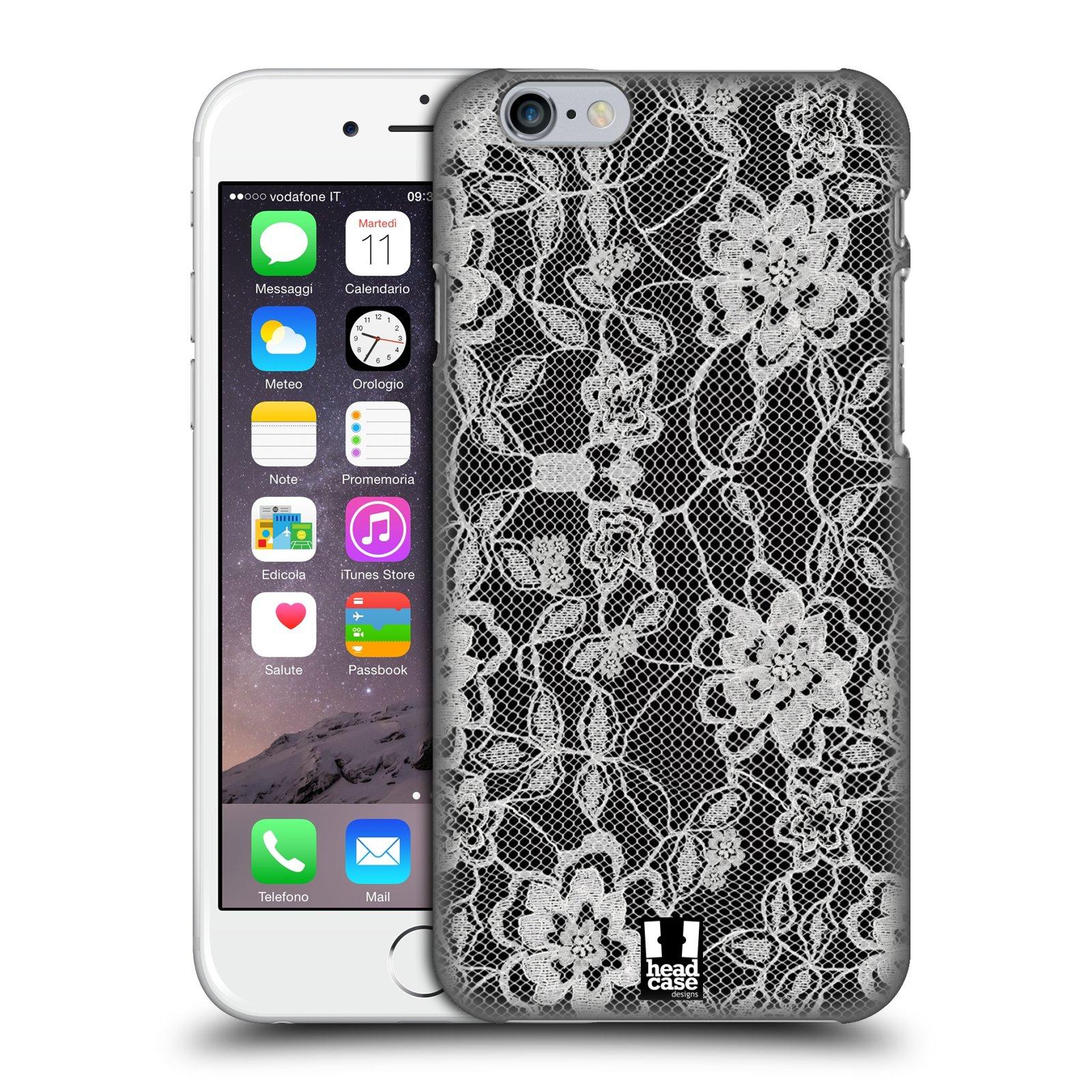 Plastové pouzdro na mobil Apple iPhone 6 HEAD CASE FLOWERY KRAJKA