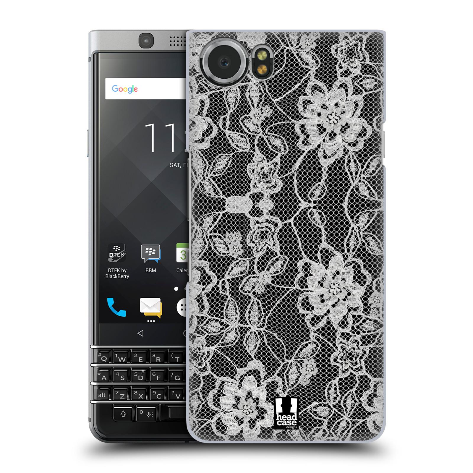 Plastové pouzdro na mobil BlackBerry KEYone - Head Case - FLOWERY KRAJKA