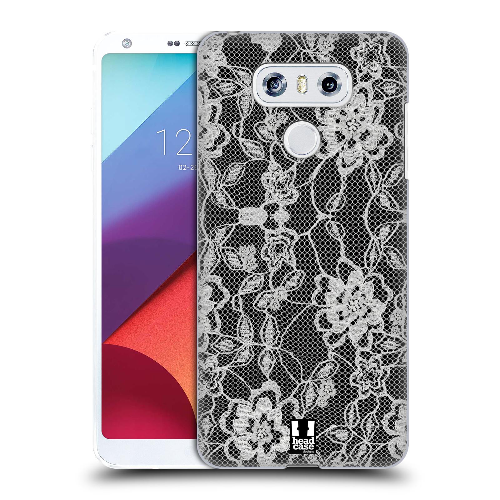 Plastové pouzdro na mobil LG G6 - Head Case FLOWERY KRAJKA