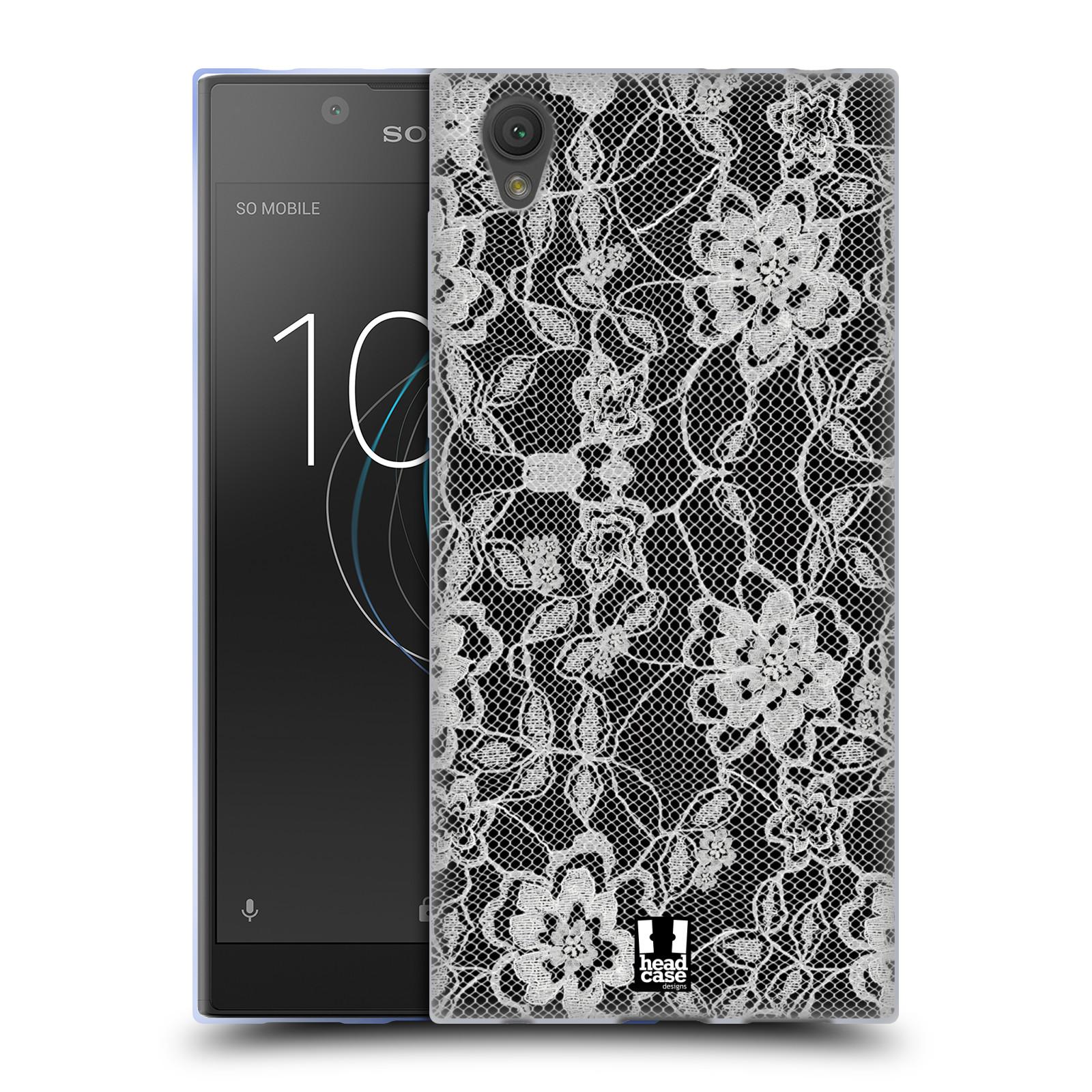 Silikonové pouzdro na mobil Sony Xperia L1 - Head Case - FLOWERY KRAJKA