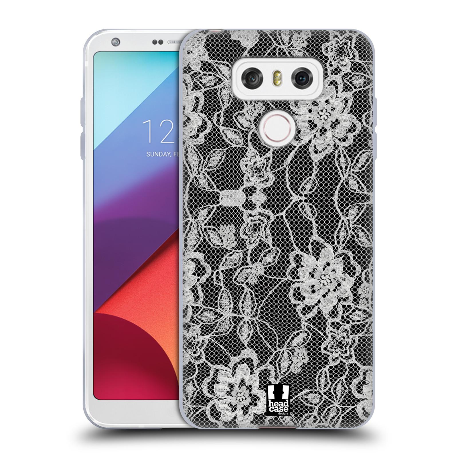 Silikonové pouzdro na mobil LG G6 - Head Case FLOWERY KRAJKA