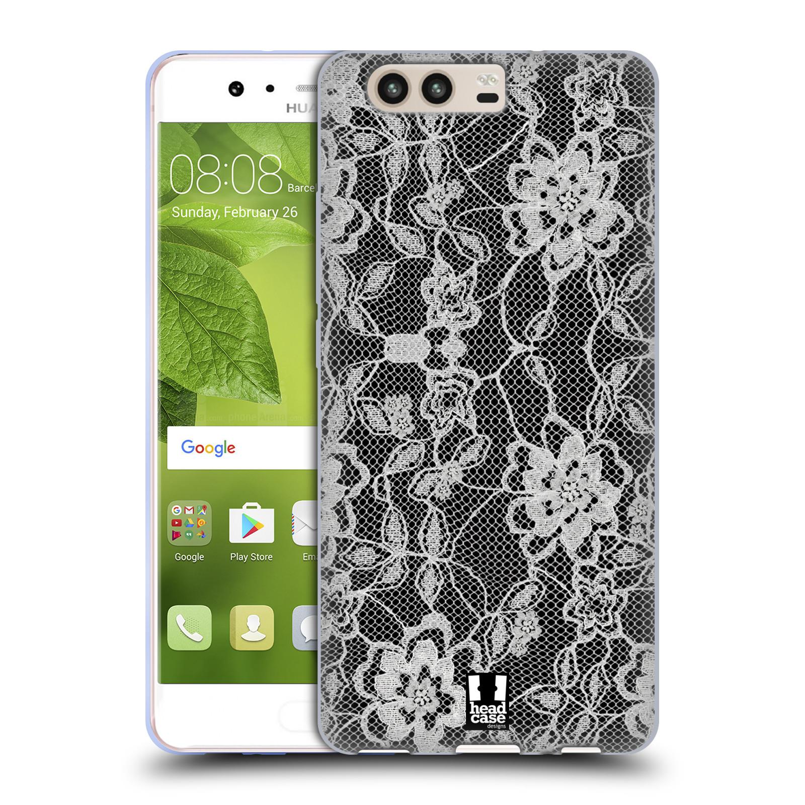 Silikonové pouzdro na mobil Huawei P10 - Head Case - FLOWERY KRAJKA (Silikonový kryt či obal na mobilní telefon Huawei P10)