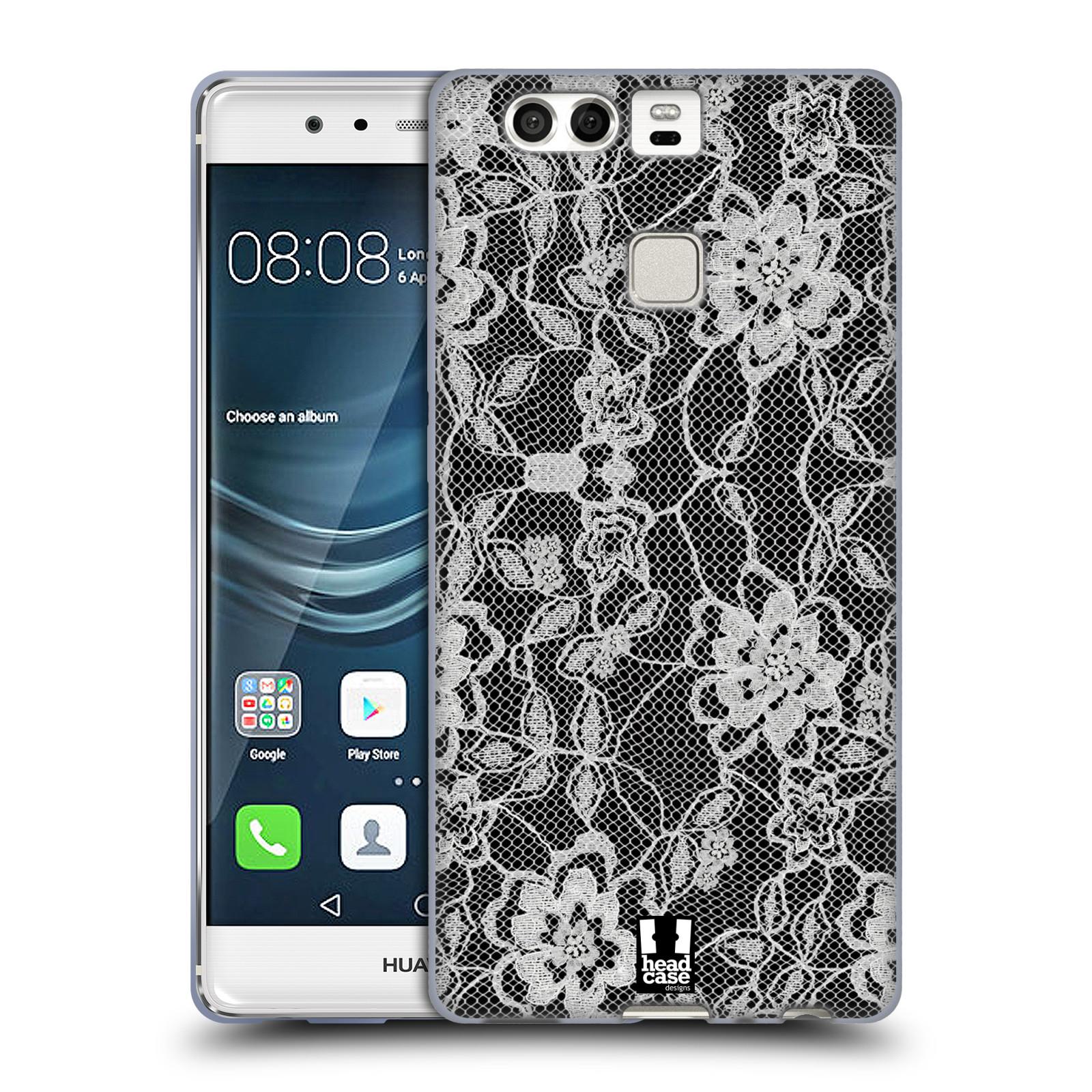 Silikonové pouzdro na mobil Huawei P9 HEAD CASE FLOWERY KRAJKA (Silikonový kryt či obal na mobilní telefon Huawei P9)