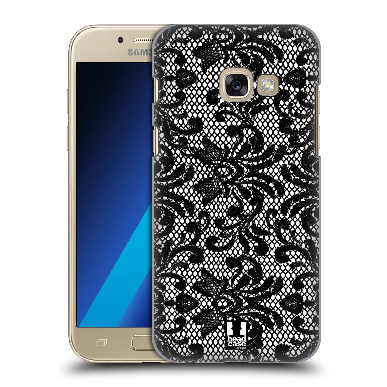 Plastové pouzdro na mobil Samsung Galaxy A3 (2017) HEAD CASE KRAJKA