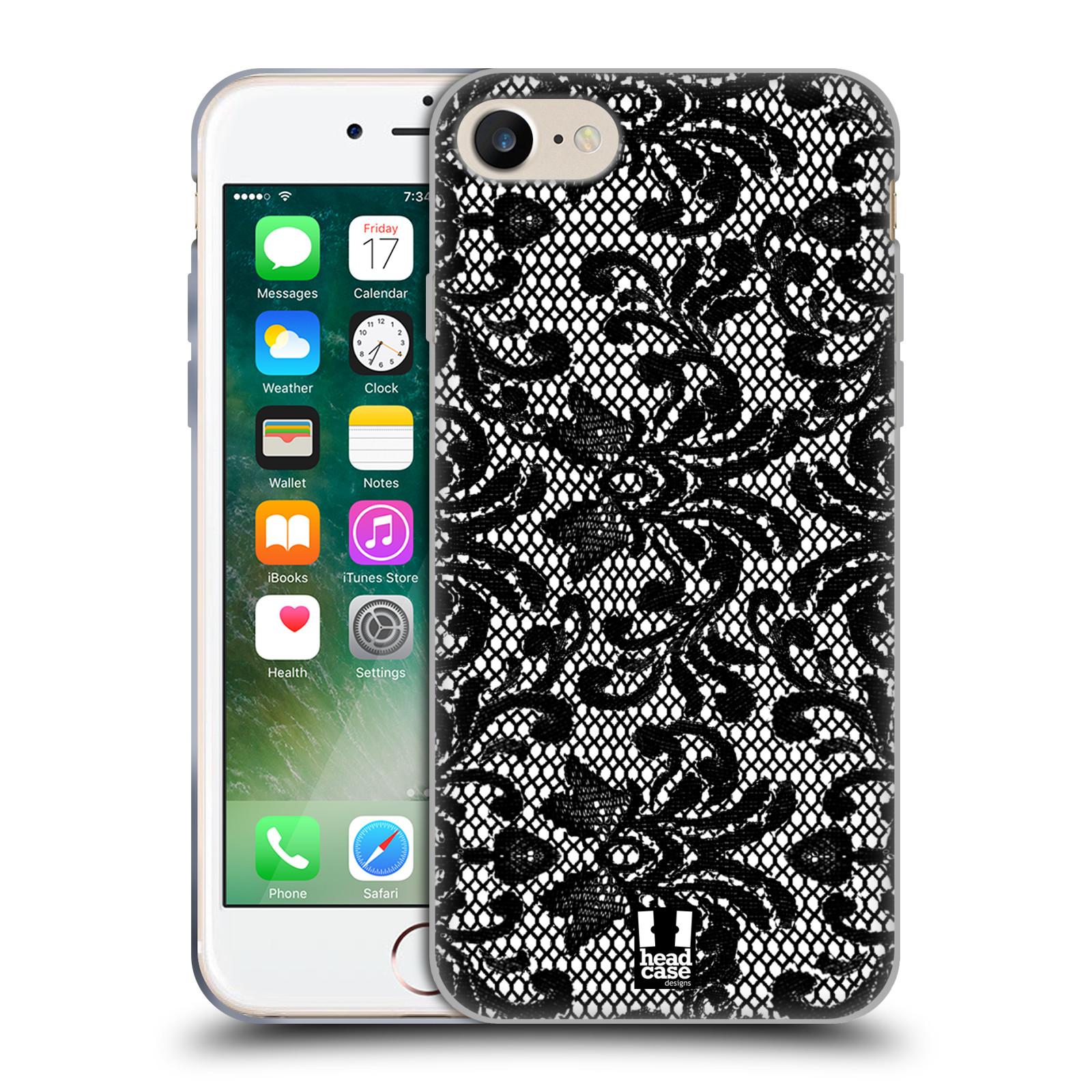 Silikonové pouzdro na mobil Apple iPhone 7 HEAD CASE KRAJKA (Silikonový kryt či obal na mobilní telefon Apple iPhone 7)