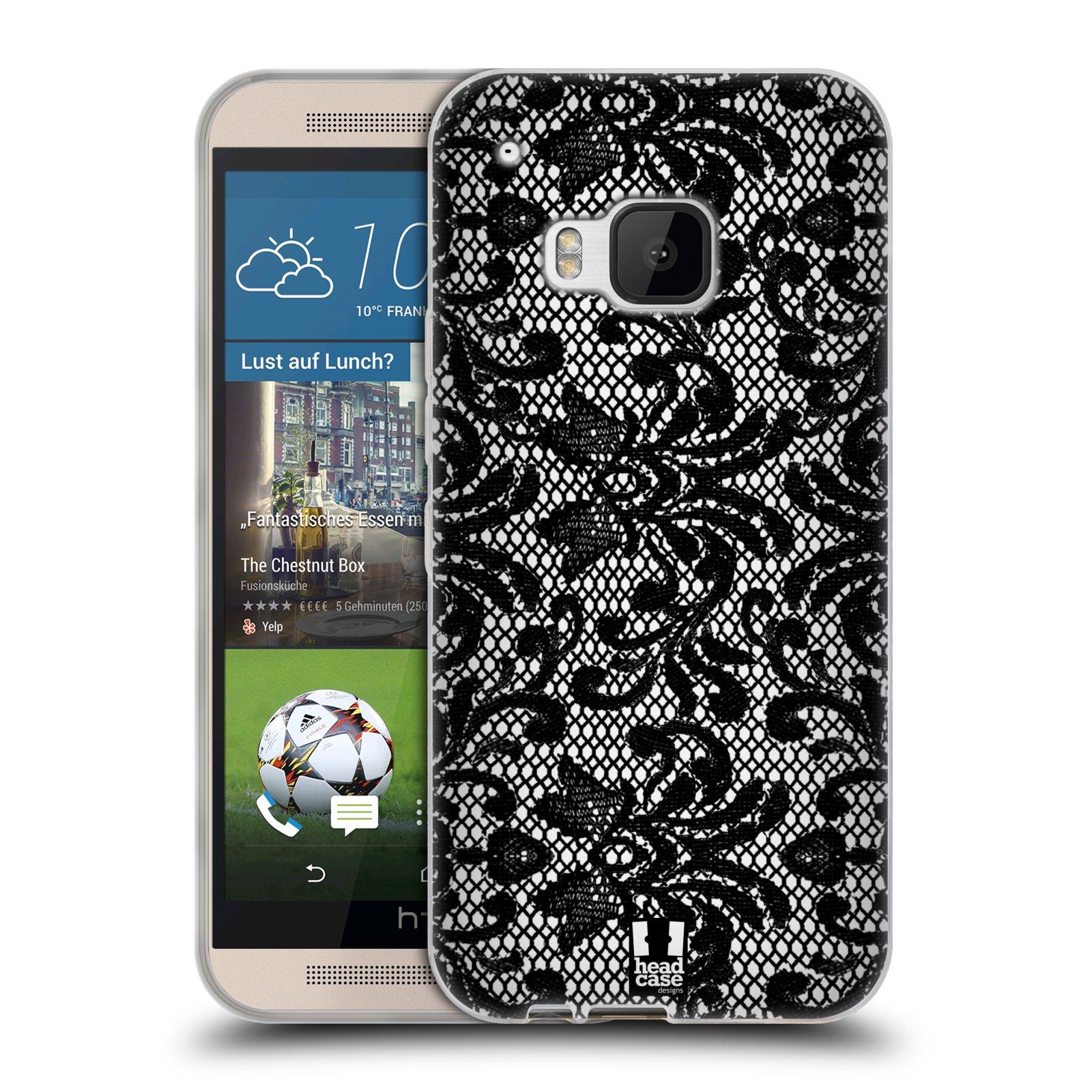 Silikonové pouzdro na mobil HTC ONE M9 HEAD CASE KRAJKA (Silikonový kryt či obal na mobilní telefon HTC ONE M9)