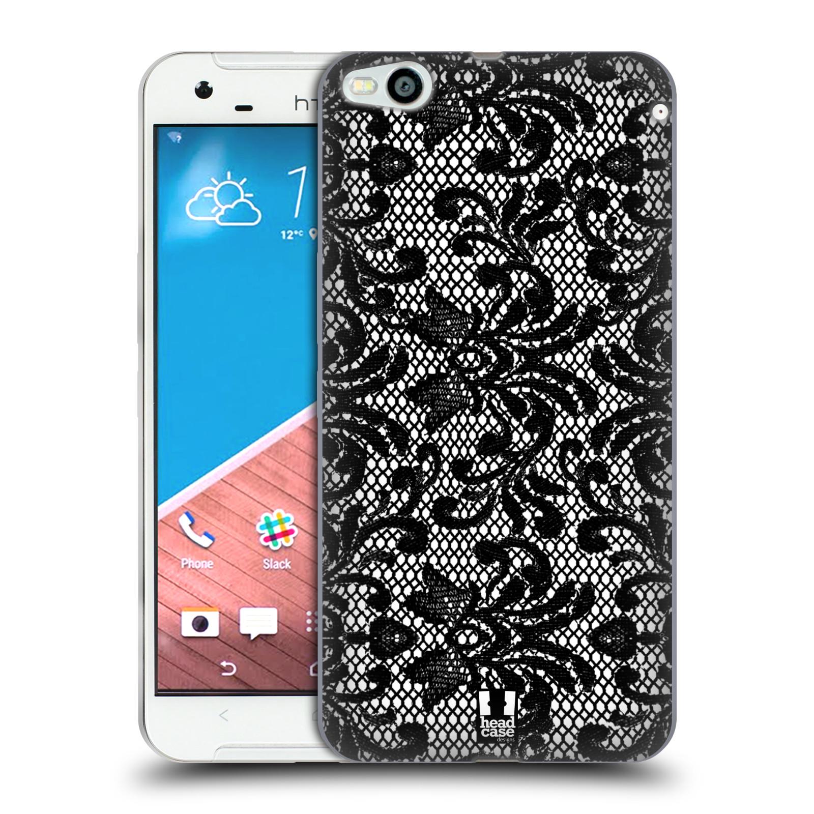Silikonové pouzdro na mobil HTC One X9 HEAD CASE KRAJKA (Silikonový kryt či obal na mobilní telefon HTC One X9)