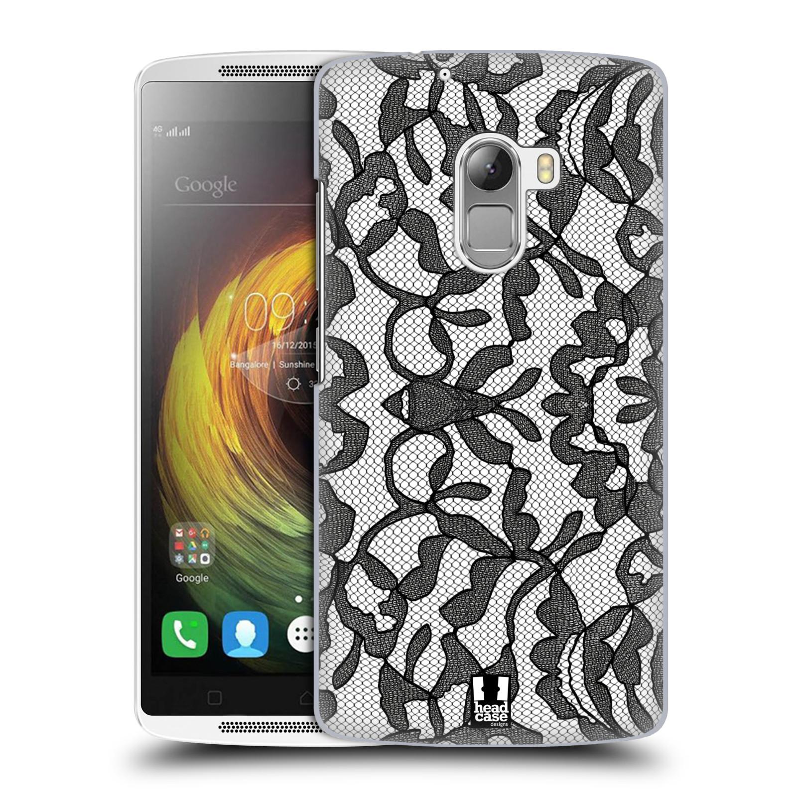 Plastové pouzdro na mobil Lenovo A7010 HEAD CASE LEAFY KRAJKA