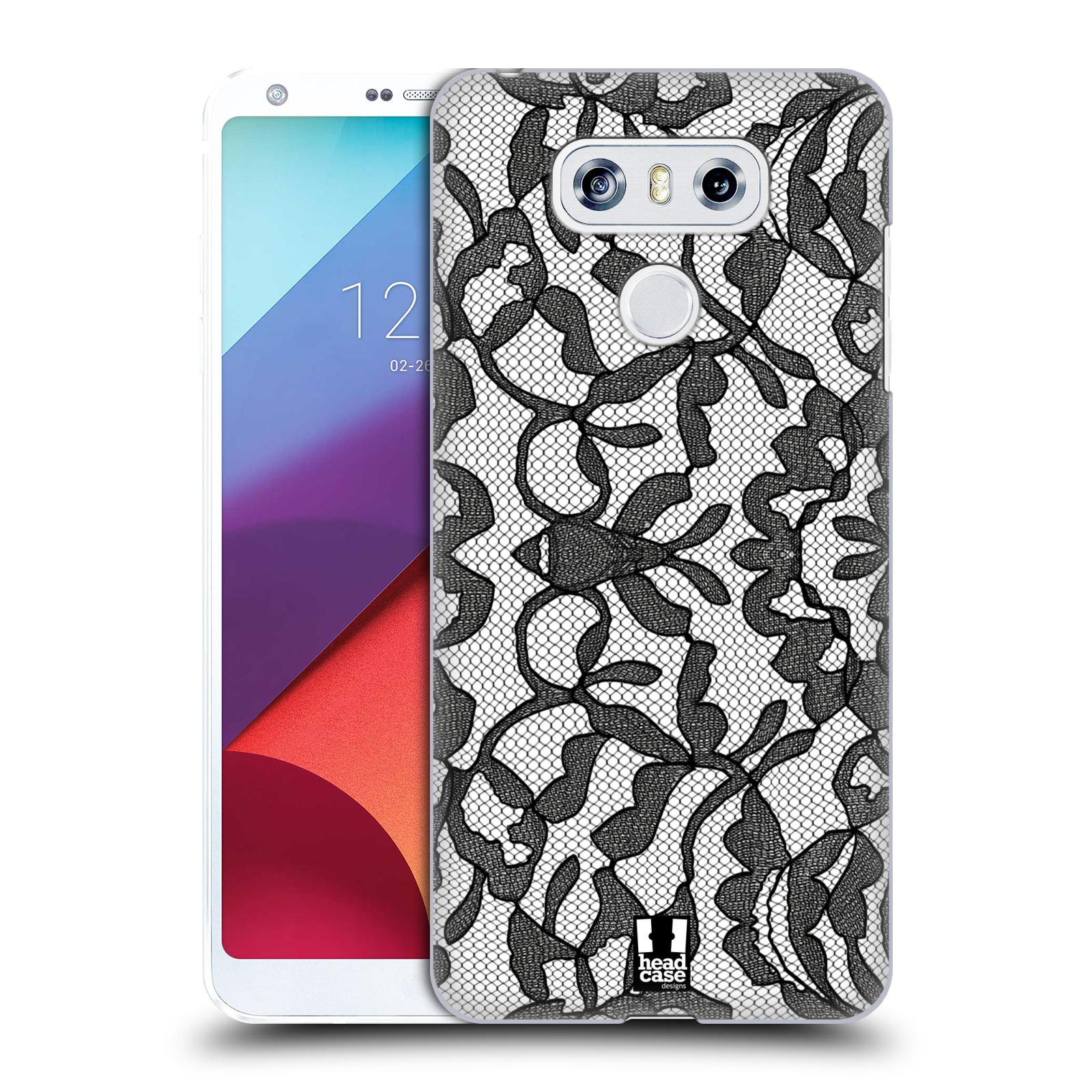 Plastové pouzdro na mobil LG G6 - Head Case LEAFY KRAJKA