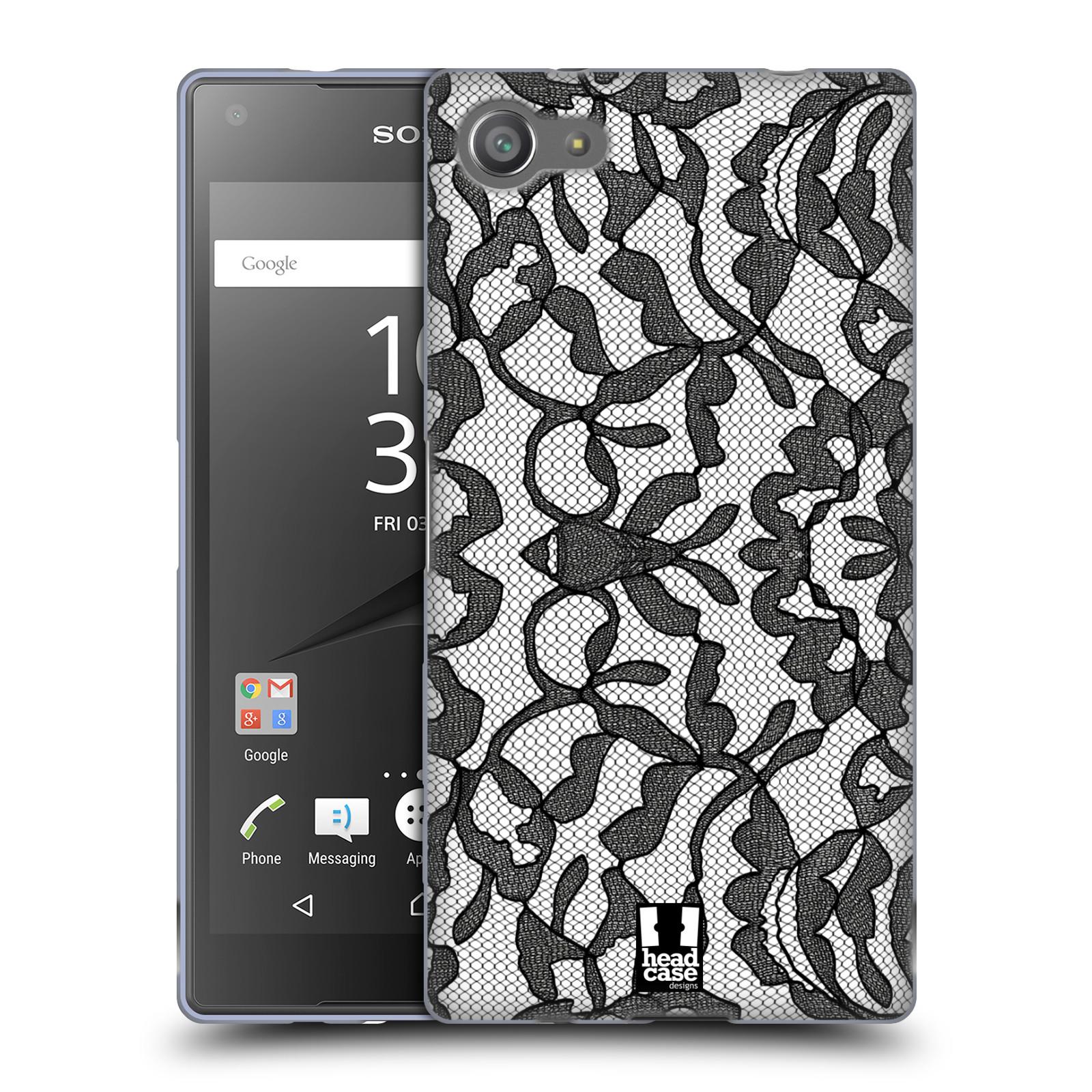 Silikonové pouzdro na mobil Sony Xperia Z5 Compact HEAD CASE LEAFY KRAJKA