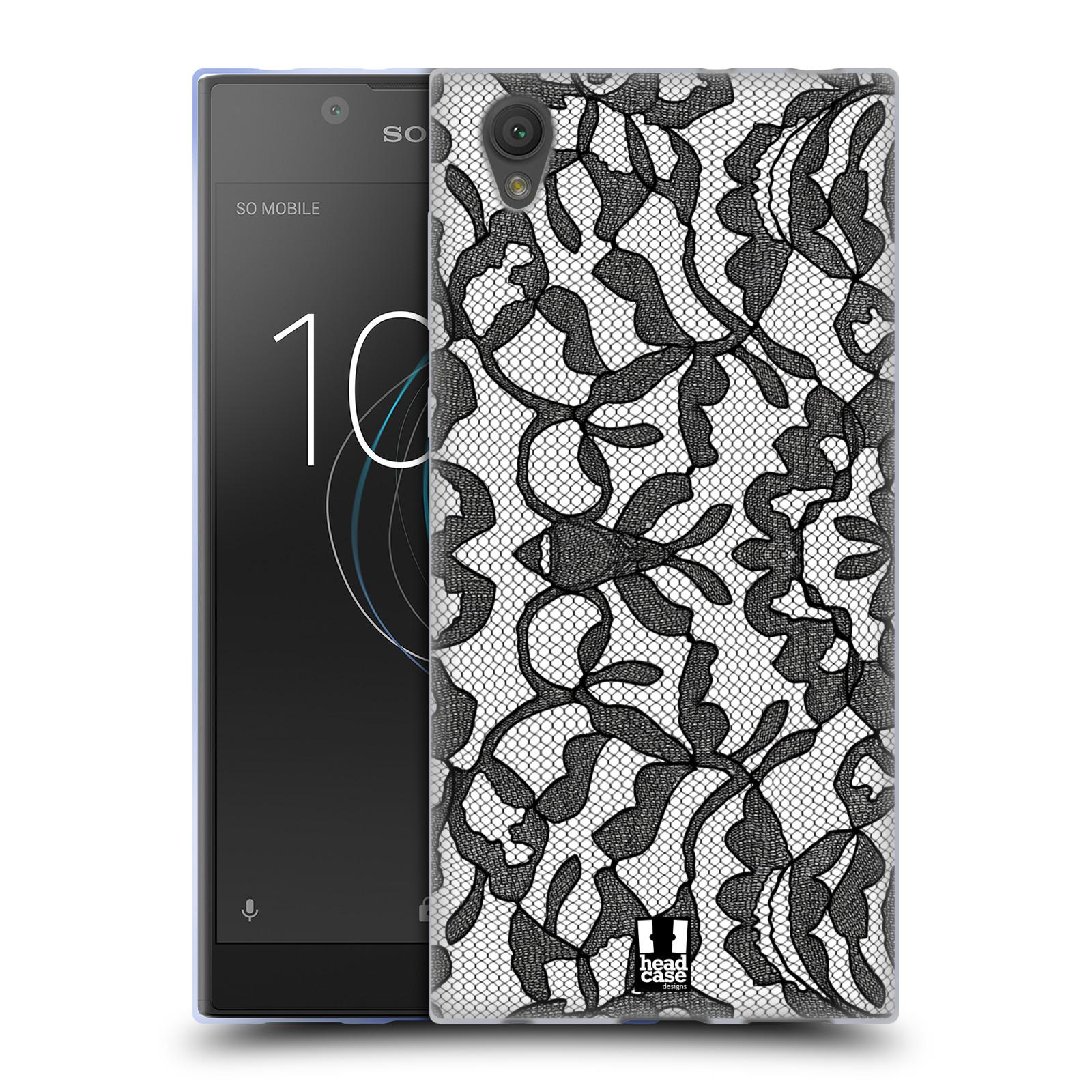 Silikonové pouzdro na mobil Sony Xperia L1 - Head Case - LEAFY KRAJKA