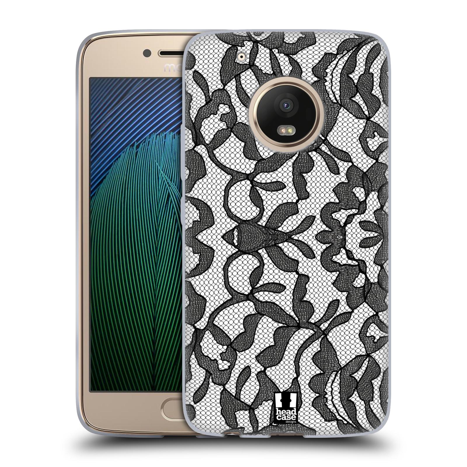 Silikonové pouzdro na mobil Lenovo Moto G5 Plus - Head Case LEAFY KRAJKA