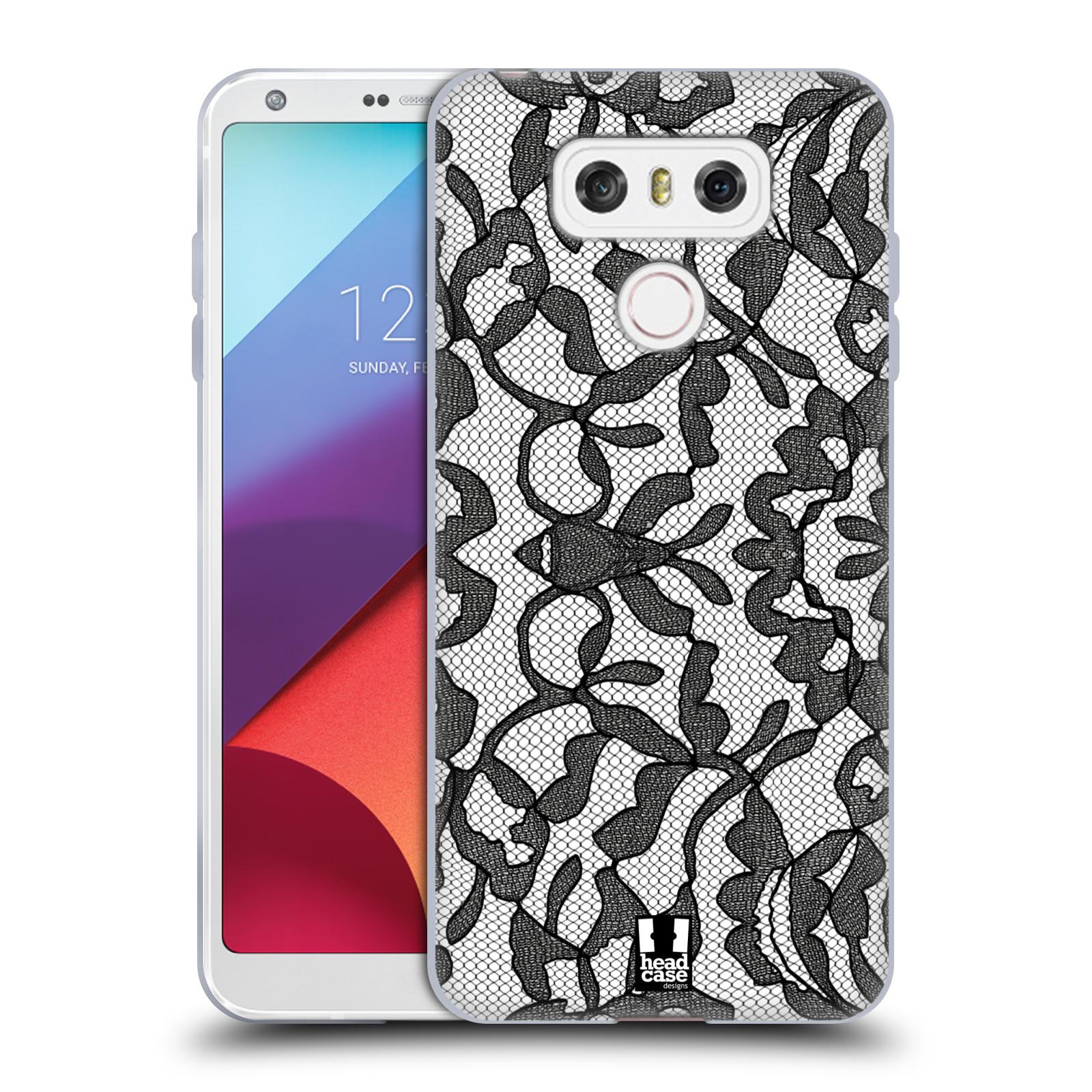 Silikonové pouzdro na mobil LG G6 - Head Case LEAFY KRAJKA