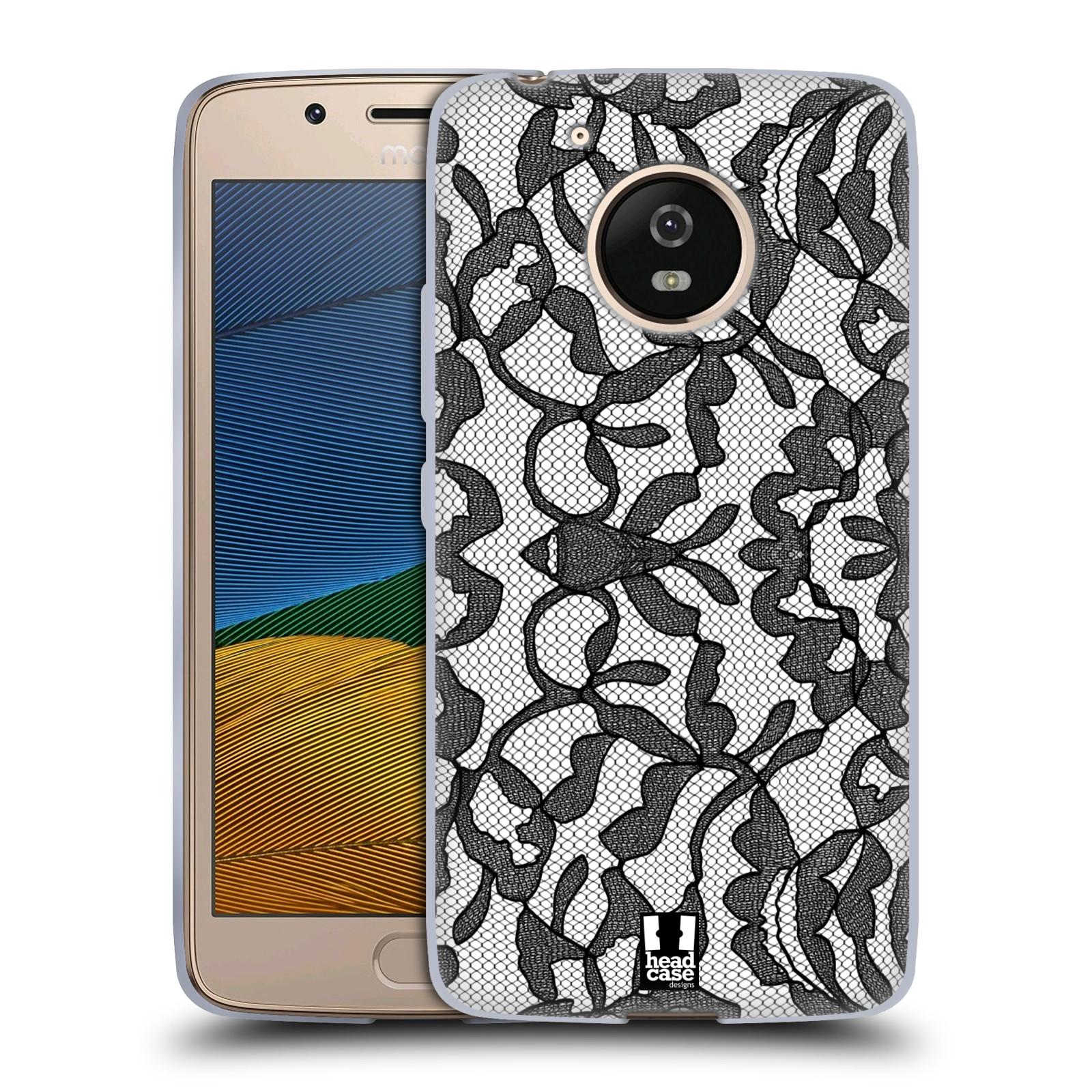 Silikonové pouzdro na mobil Lenovo Moto G5 - Head Case LEAFY KRAJKA