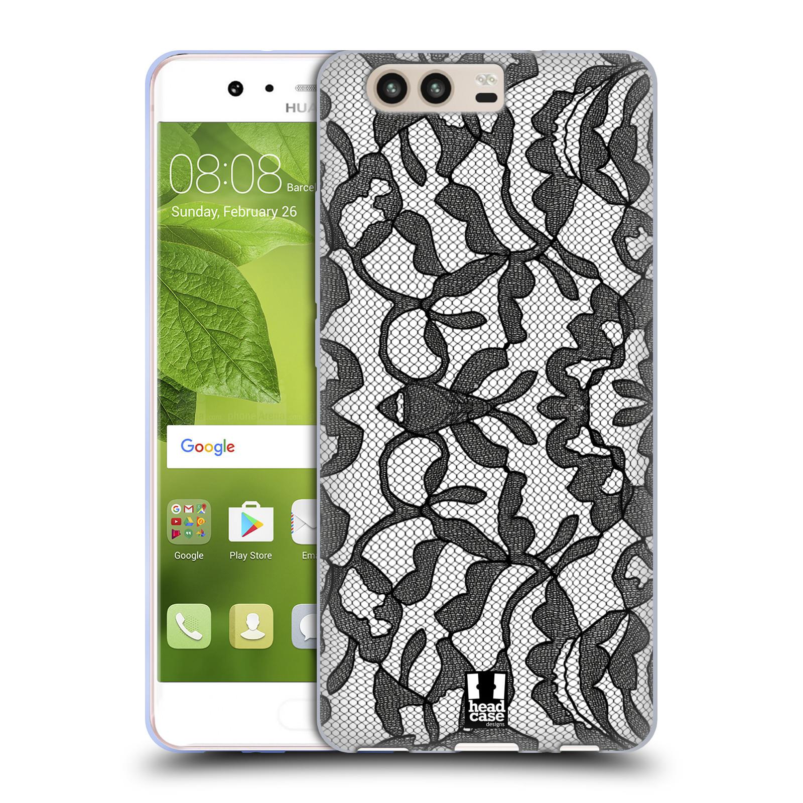 Silikonové pouzdro na mobil Huawei P10 - Head Case - LEAFY KRAJKA (Silikonový kryt či obal na mobilní telefon Huawei P10)