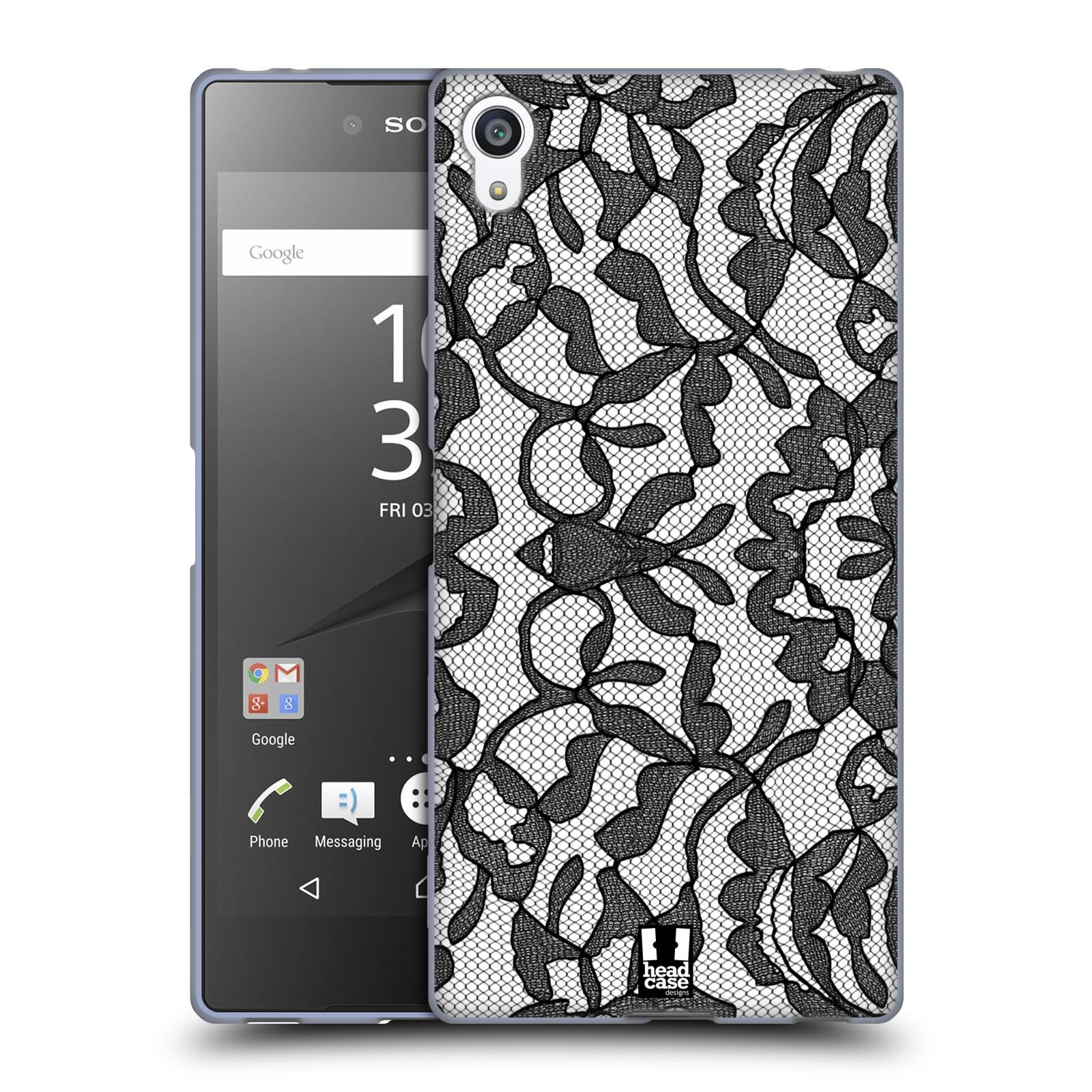 Silikonové pouzdro na mobil Sony Xperia Z5 Premium HEAD CASE LEAFY KRAJKA