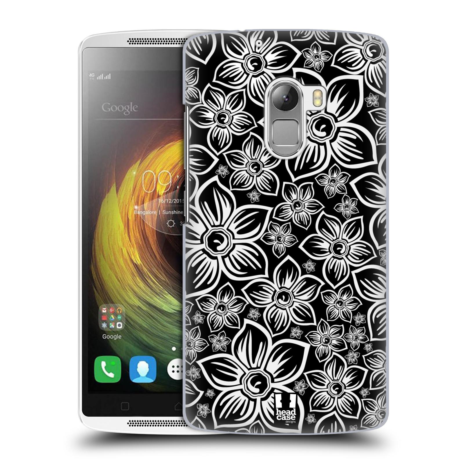 Plastové pouzdro na mobil Lenovo A7010 HEAD CASE FLORAL DAISY