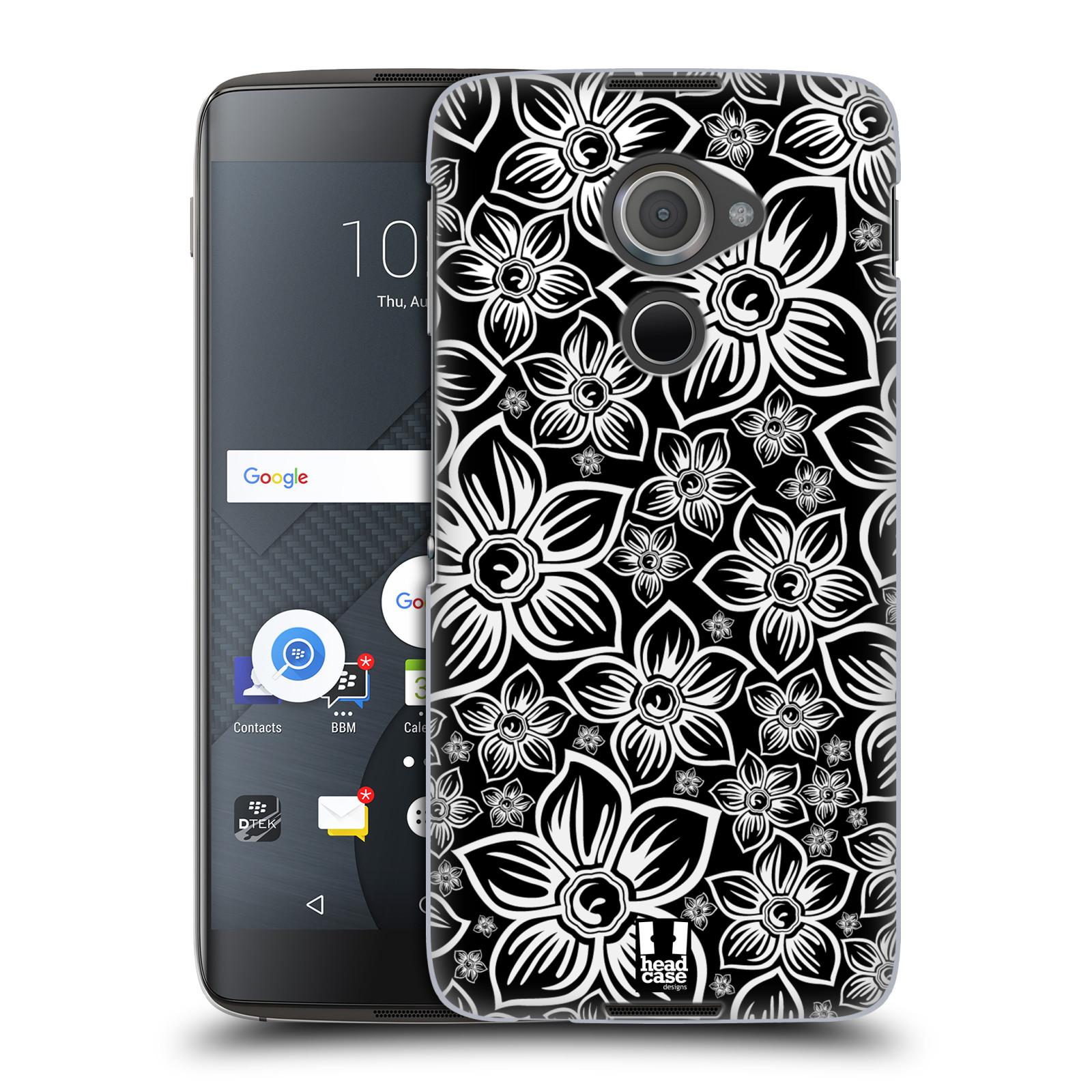 Plastové pouzdro na mobil Blackberry DTEK60 (Argon) - Head Case FLORAL DAISY