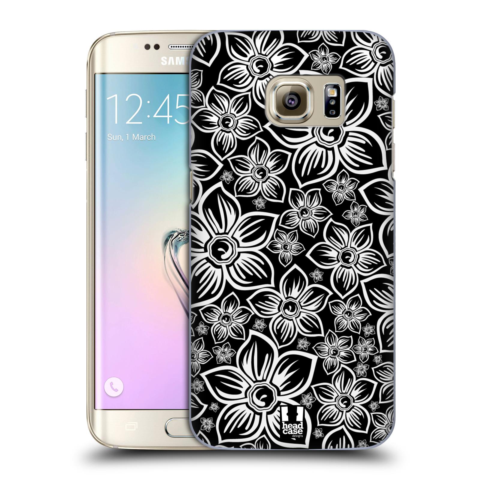 Plastové pouzdro na mobil Samsung Galaxy S7 Edge HEAD CASE FLORAL DAISY (Kryt či obal na mobilní telefon Samsung Galaxy S7 Edge SM-G935F)