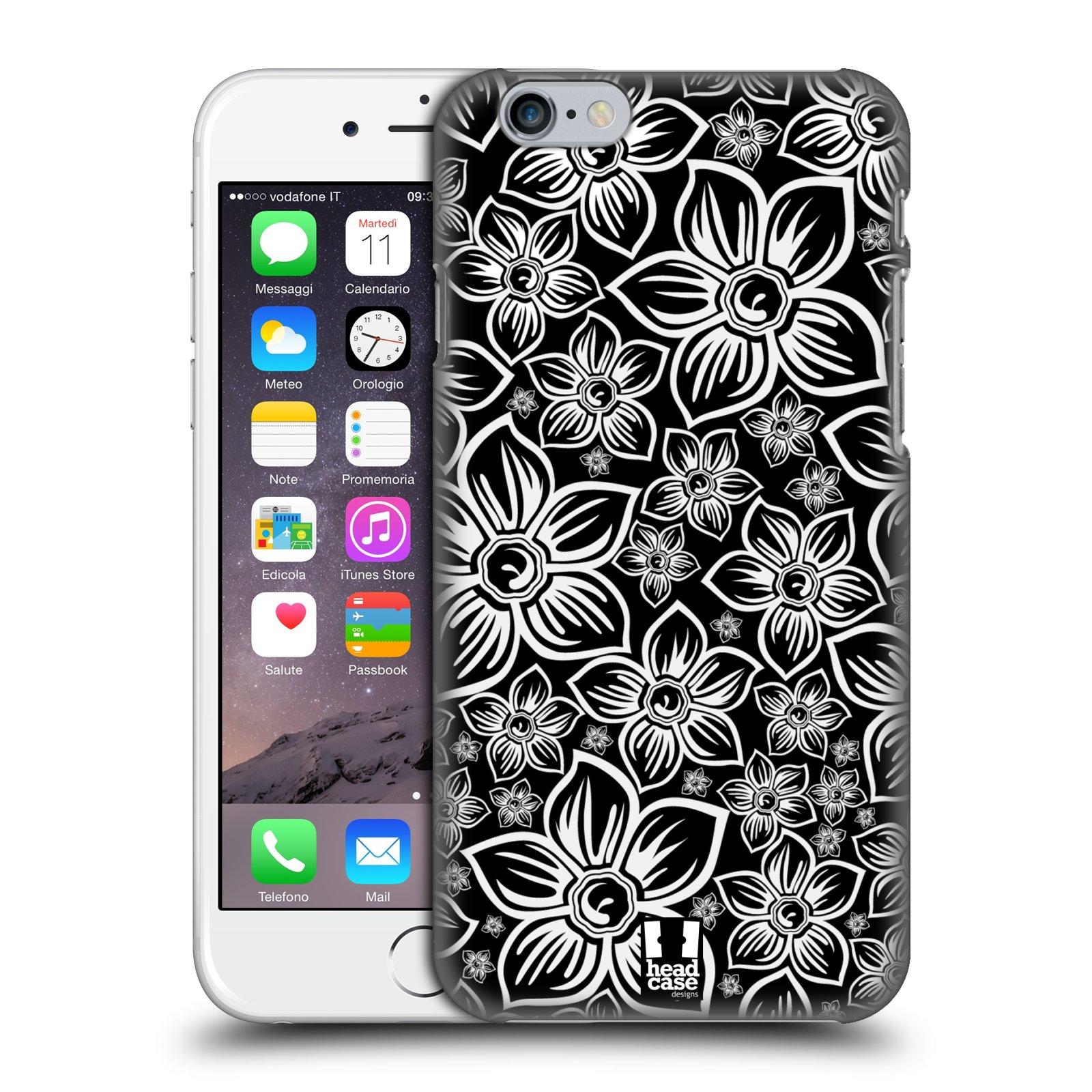 Plastové pouzdro na mobil Apple iPhone 6 a 6S HEAD CASE FLORAL DAISY