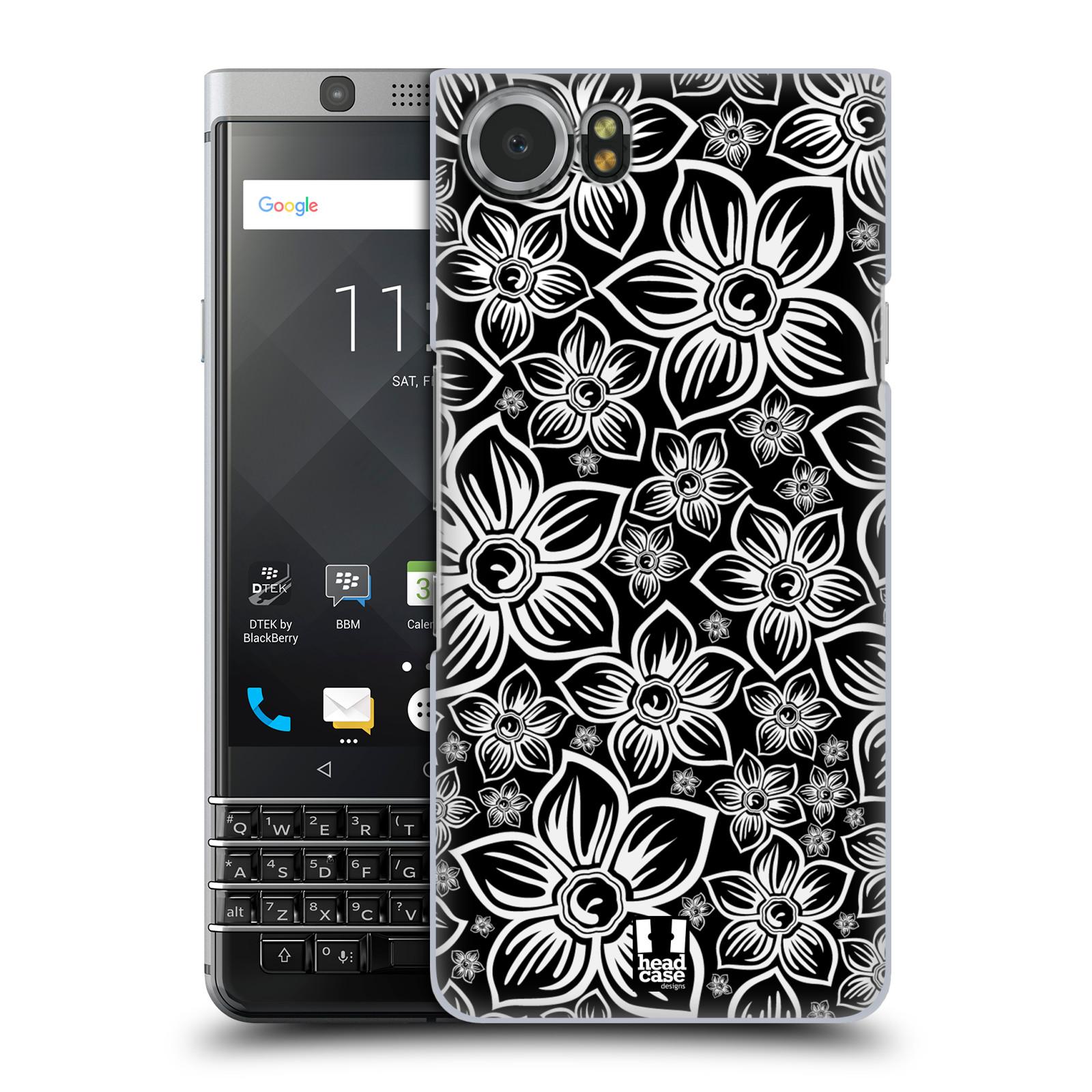 Plastové pouzdro na mobil BlackBerry KEYone - Head Case - FLORAL DAISY