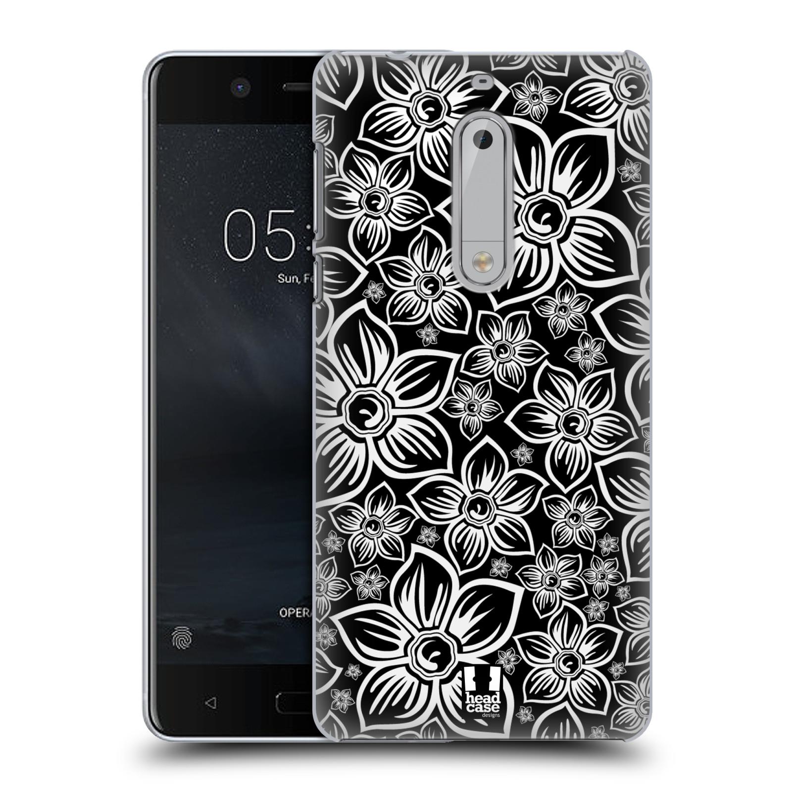 Plastové pouzdro na mobil Nokia 5 Head Case - FLORAL DAISY