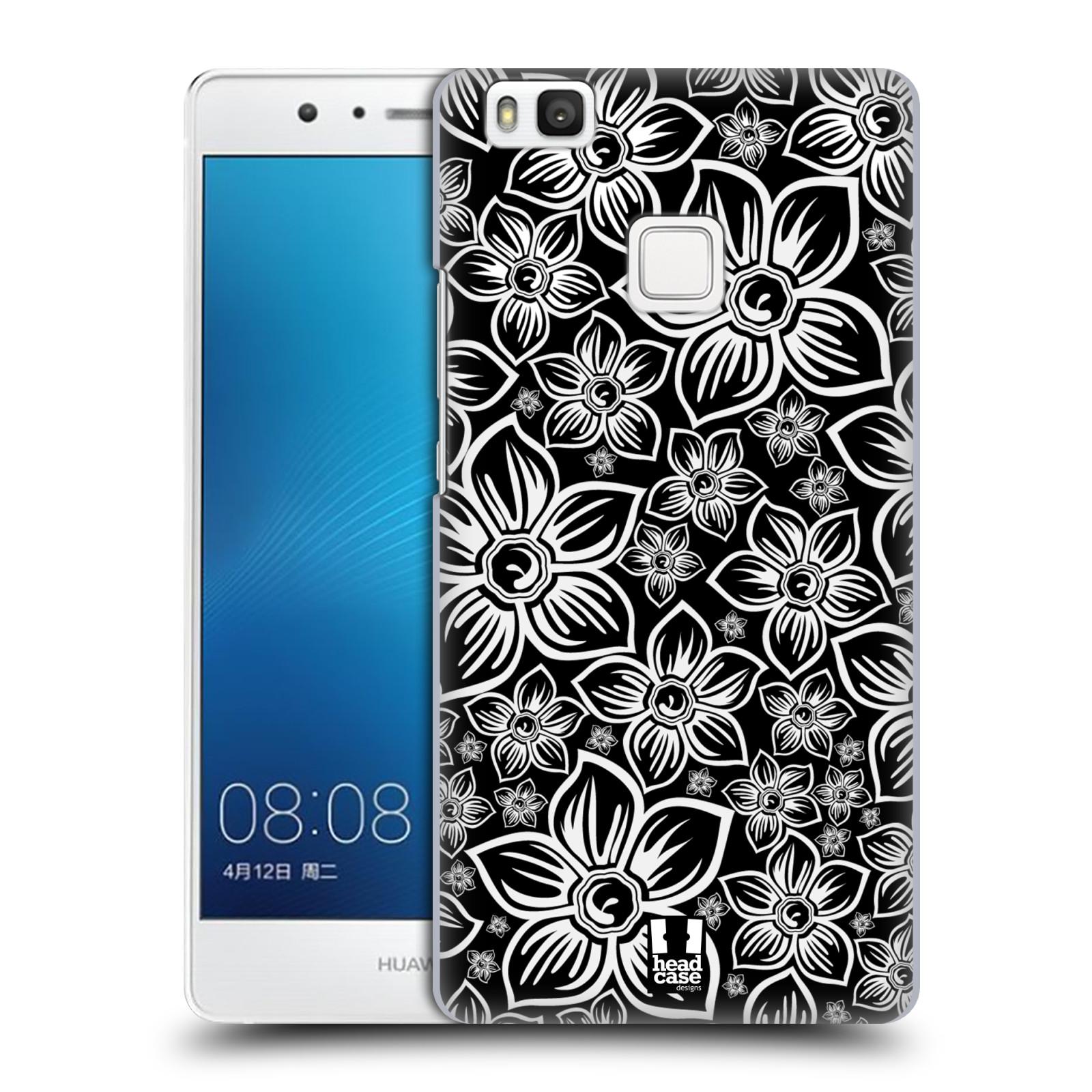 Plastové pouzdro na mobil Huawei P9 Lite HEAD CASE FLORAL DAISY