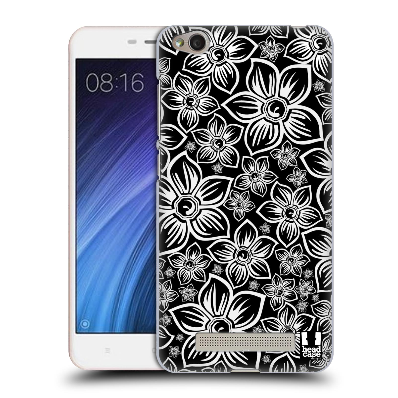 Plastové pouzdro na mobil Xiaomi Redmi 4A HEAD CASE FLORAL DAISY