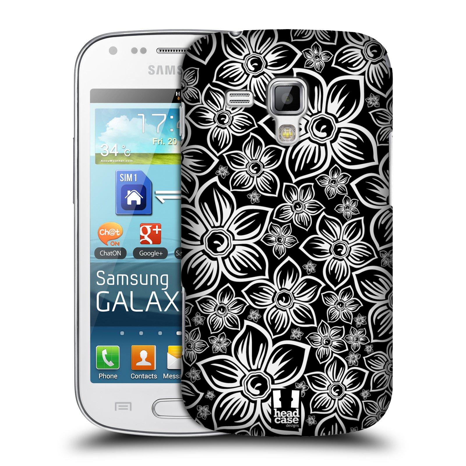 Plastové pouzdro na mobil Samsung Galaxy Trend Plus HEAD CASE FLORAL DAISY