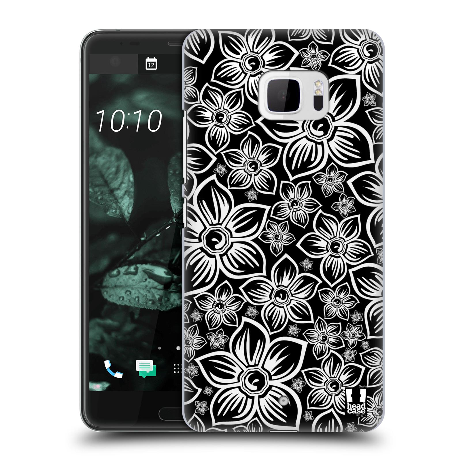Plastové pouzdro na mobil HTC U Ultra Head Case - FLORAL DAISY