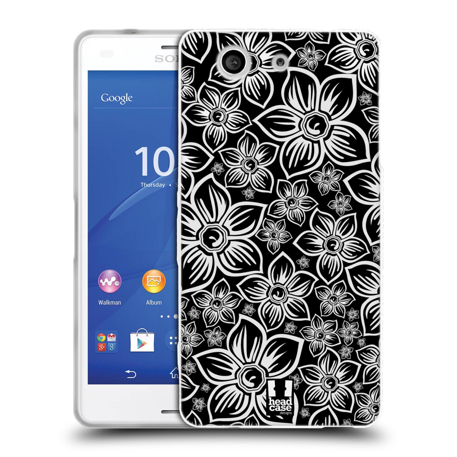 Silikonové pouzdro na mobil Sony Xperia Z3 Compact D5803 HEAD CASE FLORAL DAISY
