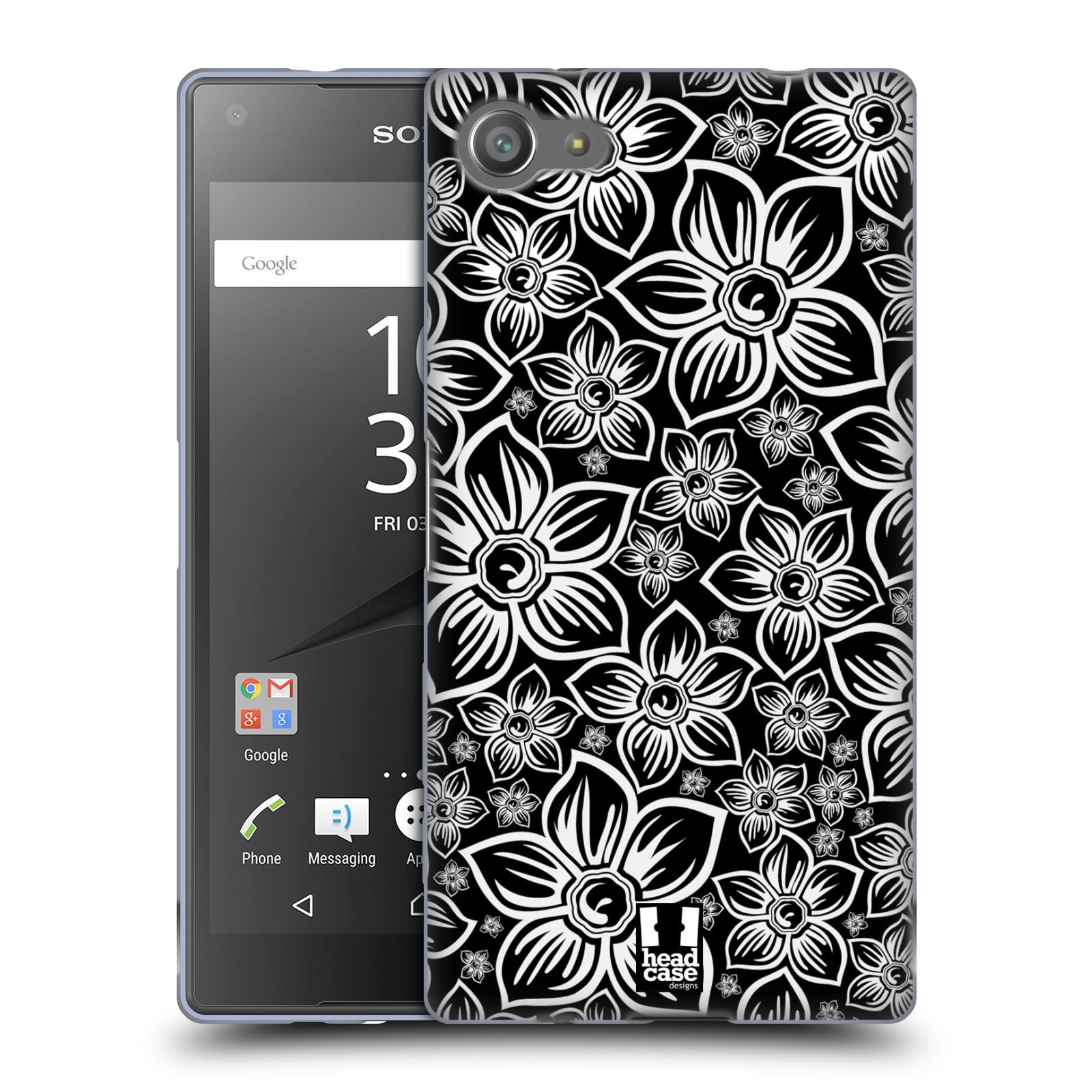 Silikonové pouzdro na mobil Sony Xperia Z5 Compact HEAD CASE FLORAL DAISY